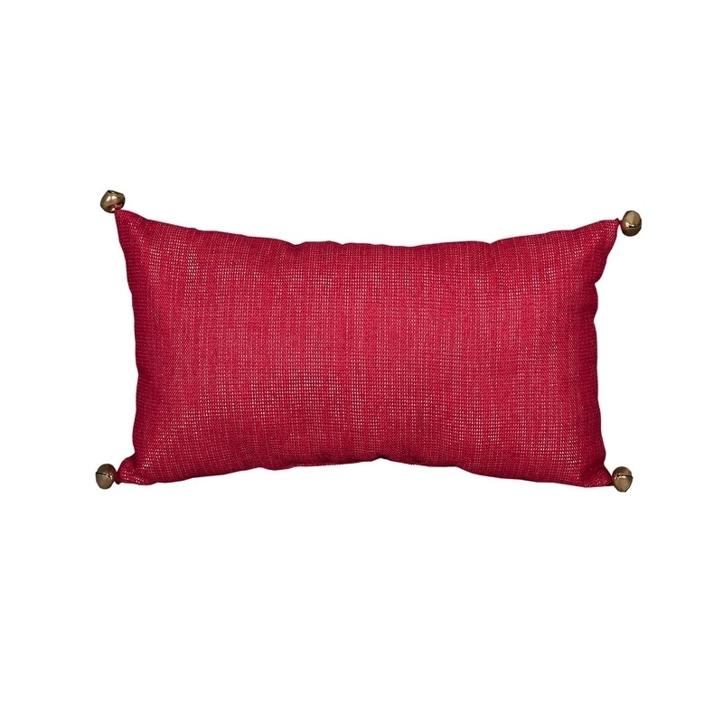 shop merry christmas pillow 8 by 14 inch free shipping on orders over 45 overstockcom 17994881