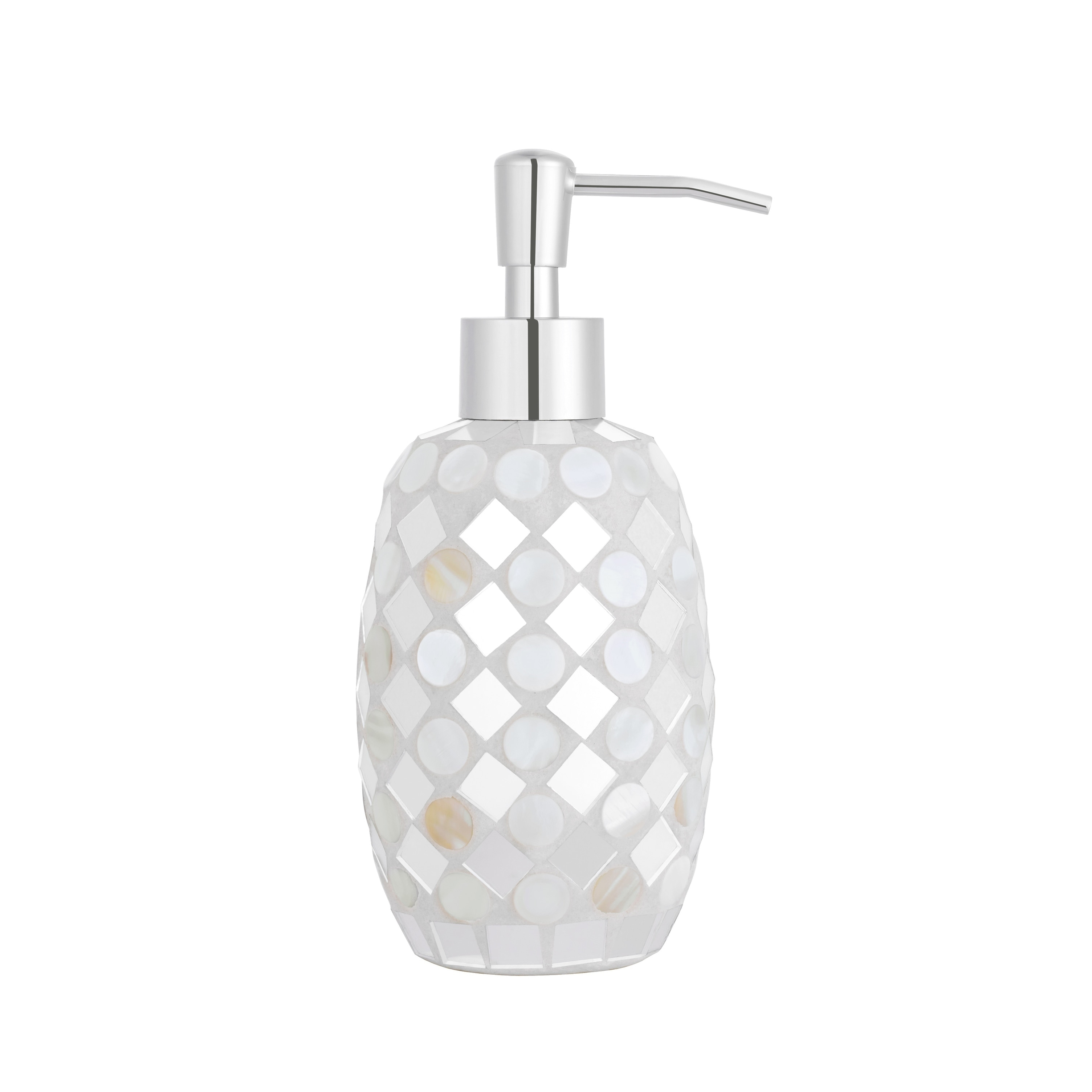 Five Queens Court Mercer Mosaic Bathroom Accessories Collection   Free  Shipping On Orders Over $45   Overstock.com   24171613