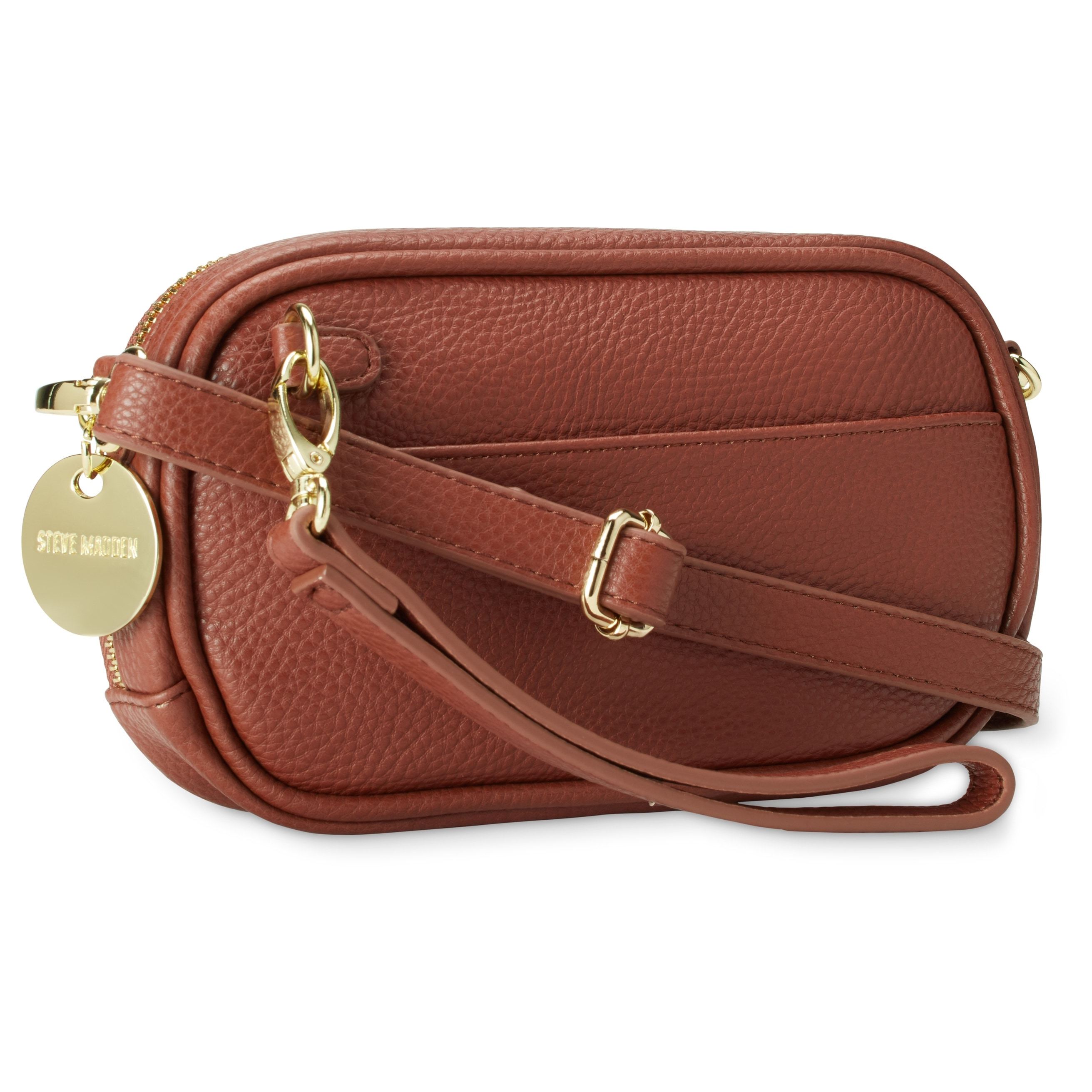 3eac3e9dc158 Shop Steve Madden BMagnolia Chevron Quilted Crossbody Handbag - Free  Shipping On Orders Over  45 - Overstock - 18000666