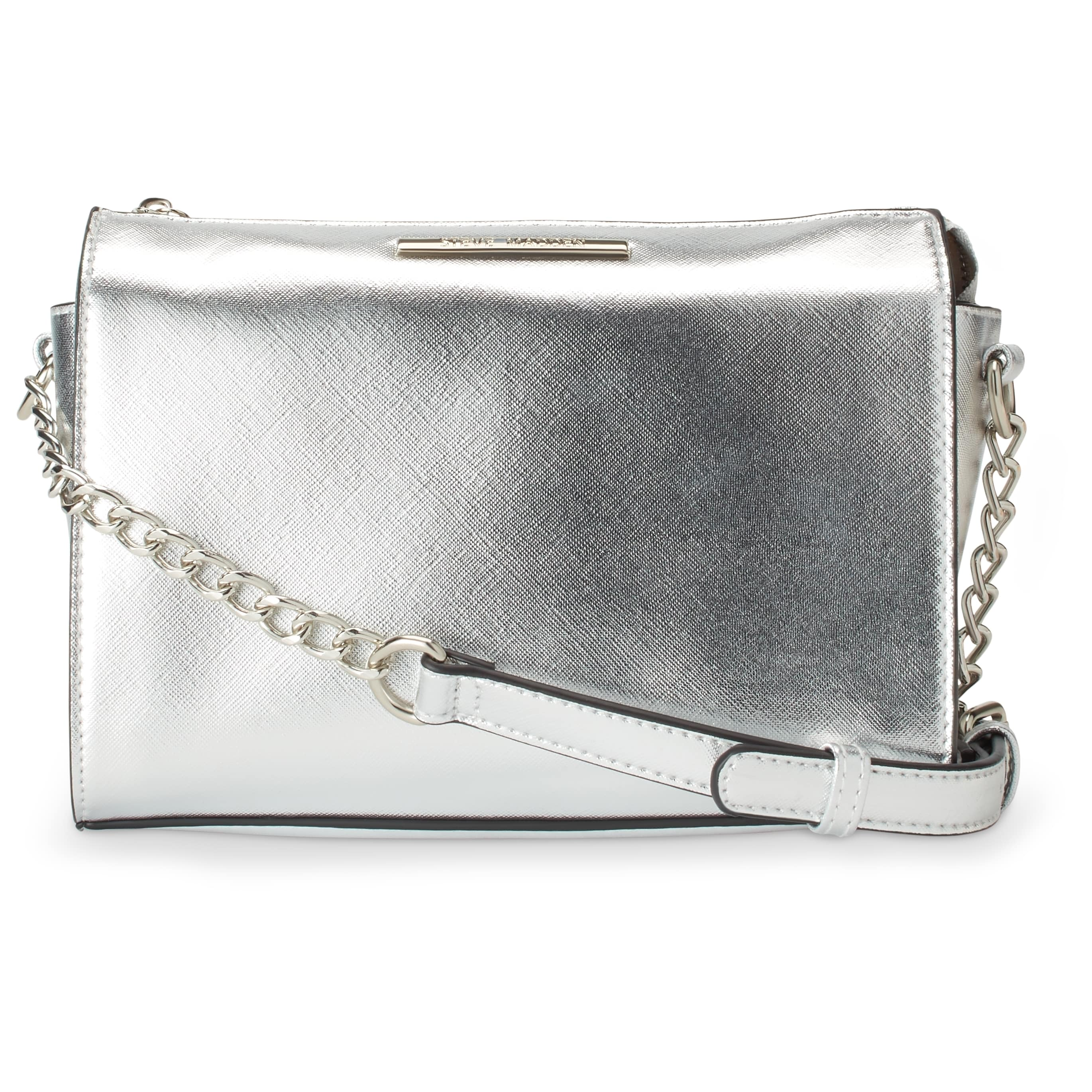 60700d51f5 Shop Steve Madden BLexi Faux Leather Crossbody Handbag - Free Shipping On  Orders Over  45 - Overstock - 18000670