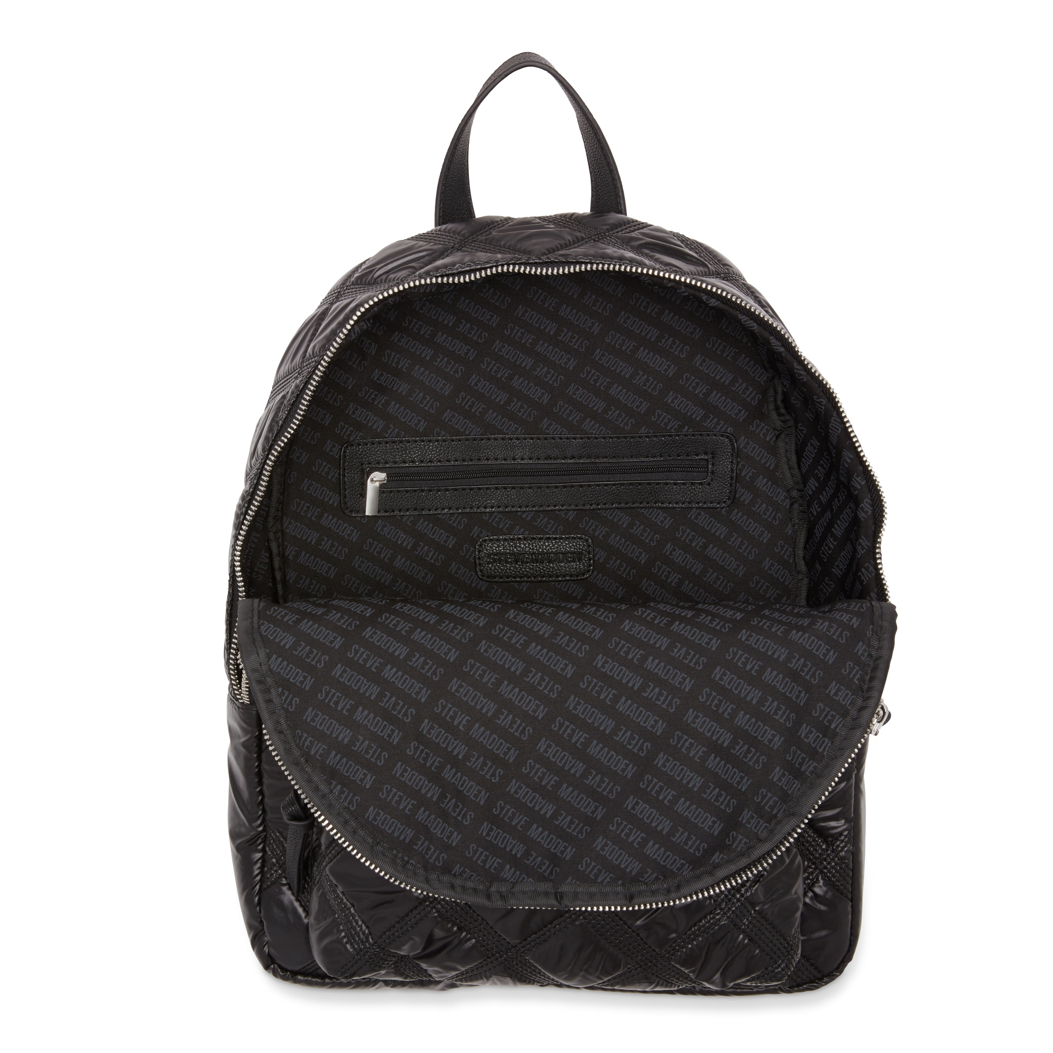 76ff70cc56 Shop Steve Madden BNyla Triple-Stitch Nylon Fashion Backpack - Free  Shipping On Orders Over $45 - Overstock - 18000690
