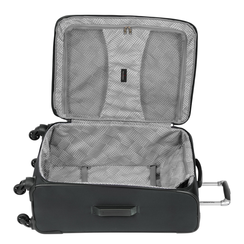 38c3a289f0bb Ricardo Beverly Hills Saratoga 25-Inch 4-Wheel Upright Graphite Luggage