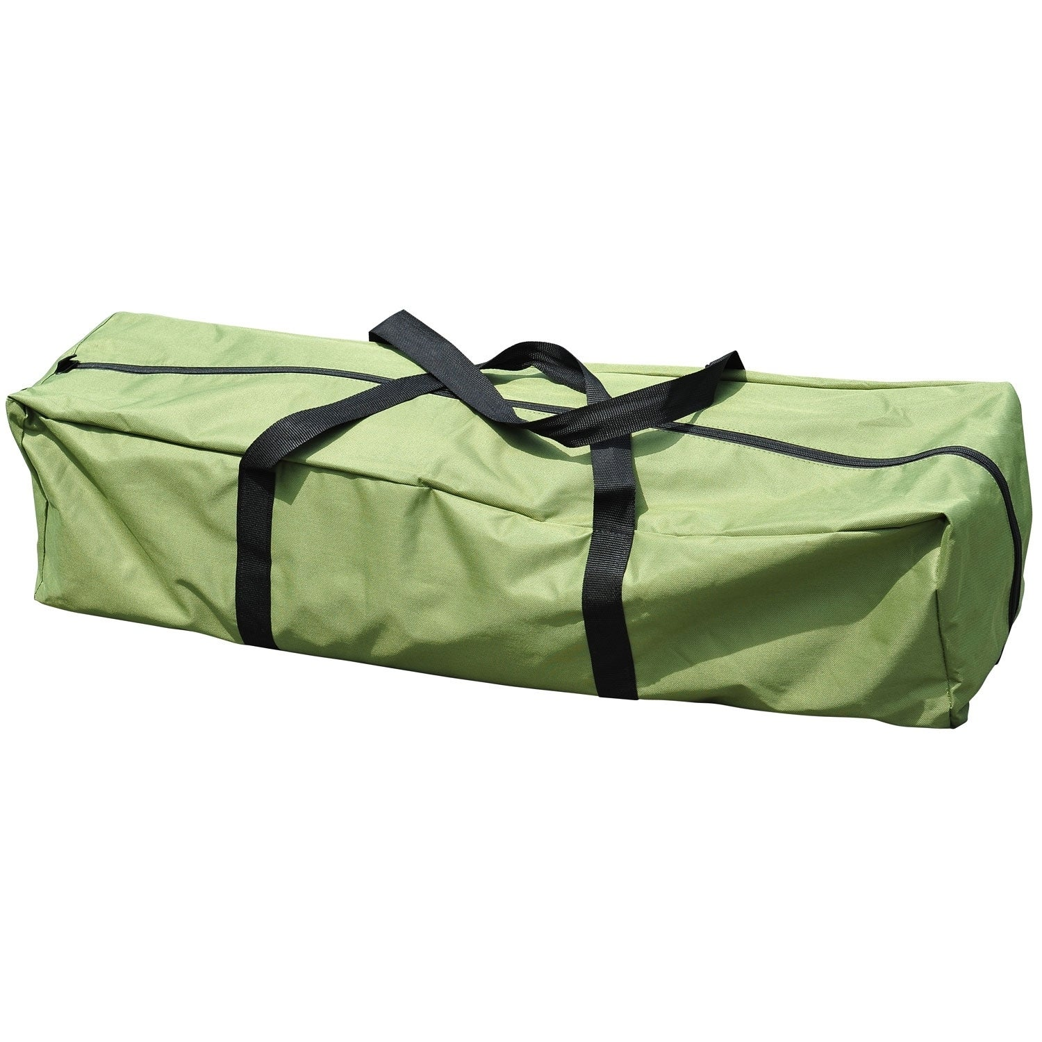 Shop Outsunny Pop Up Tent Cot With Air Mattress And Sleeping Bag