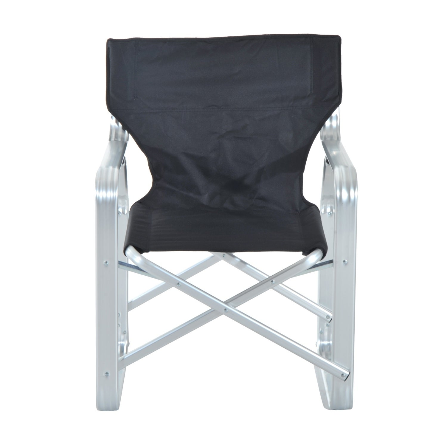 Outsunny Heavy Duty Folding Director & Camping Chair Free