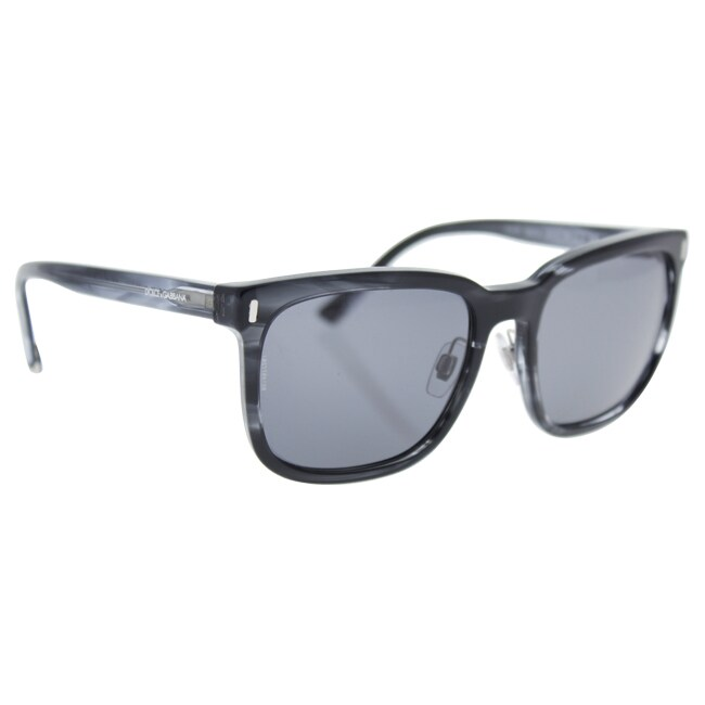 b440a3038c5f Shop Dolce   Gabbana DG 4271 2924 81 Men s Striped Anthracite Frame Grey  Polarized Lens Sunglasses - Ships To Canada - Overstock.ca - 18007194