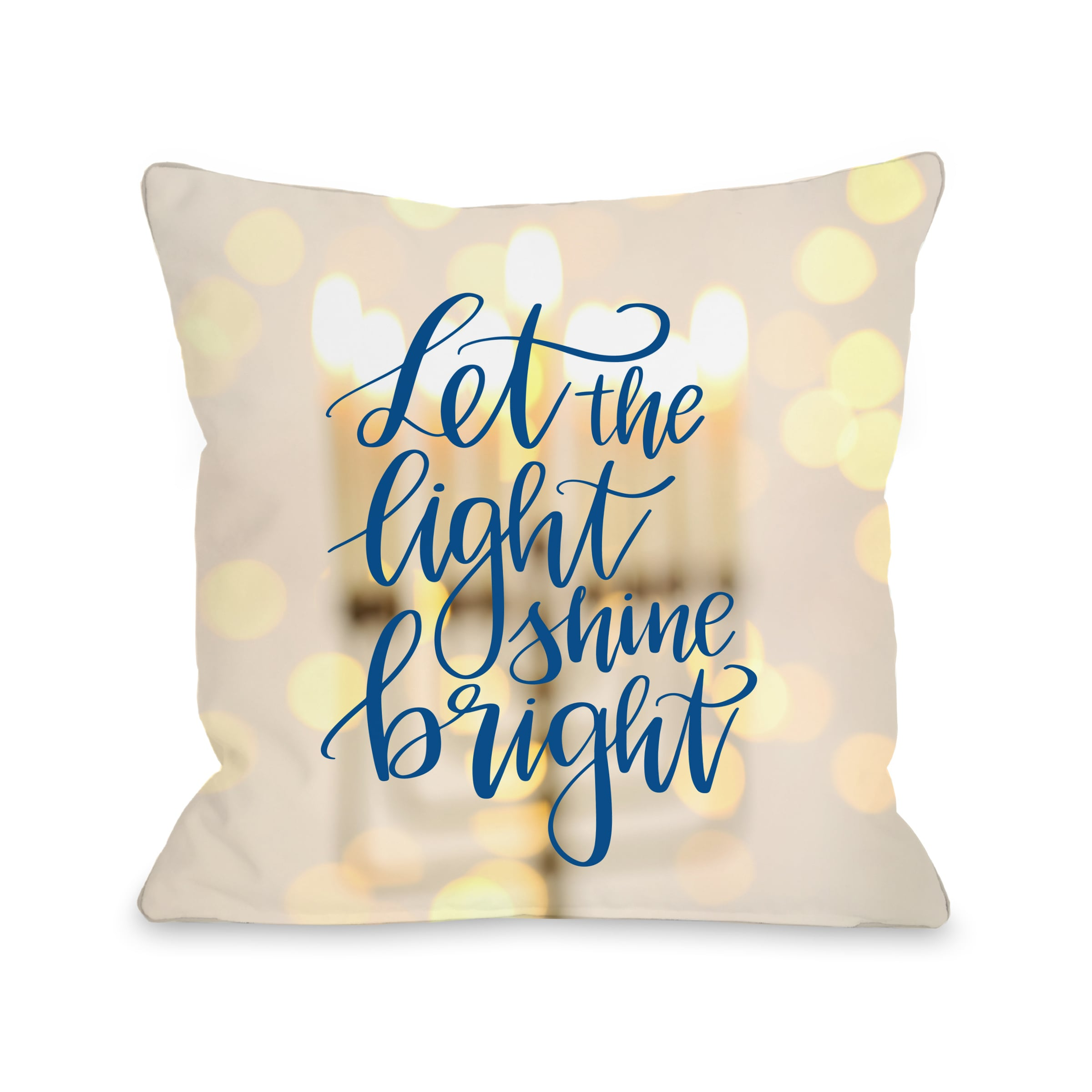 Let The Light Shine Bright Yellow Throw 16 Or 18 Inch Pillow By Obc Free Shipping On Orders Over 45 18007528