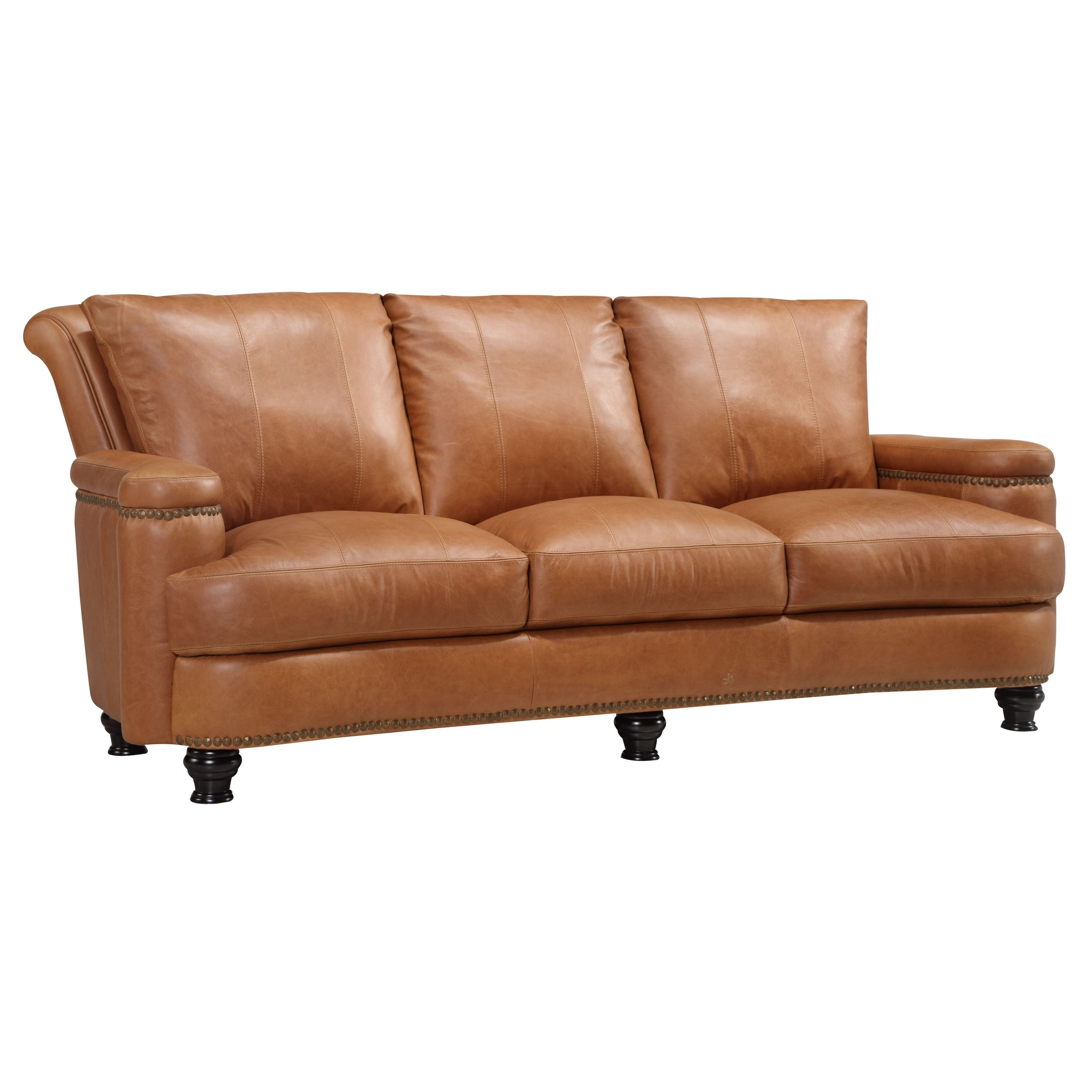 Exceptionnel Shop Nathan Top Grain Italian Leather Sofa   Free Shipping Today    Overstock.com   18007978