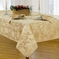 Christmas Carol Fabric Damask Christmas Tablecloth