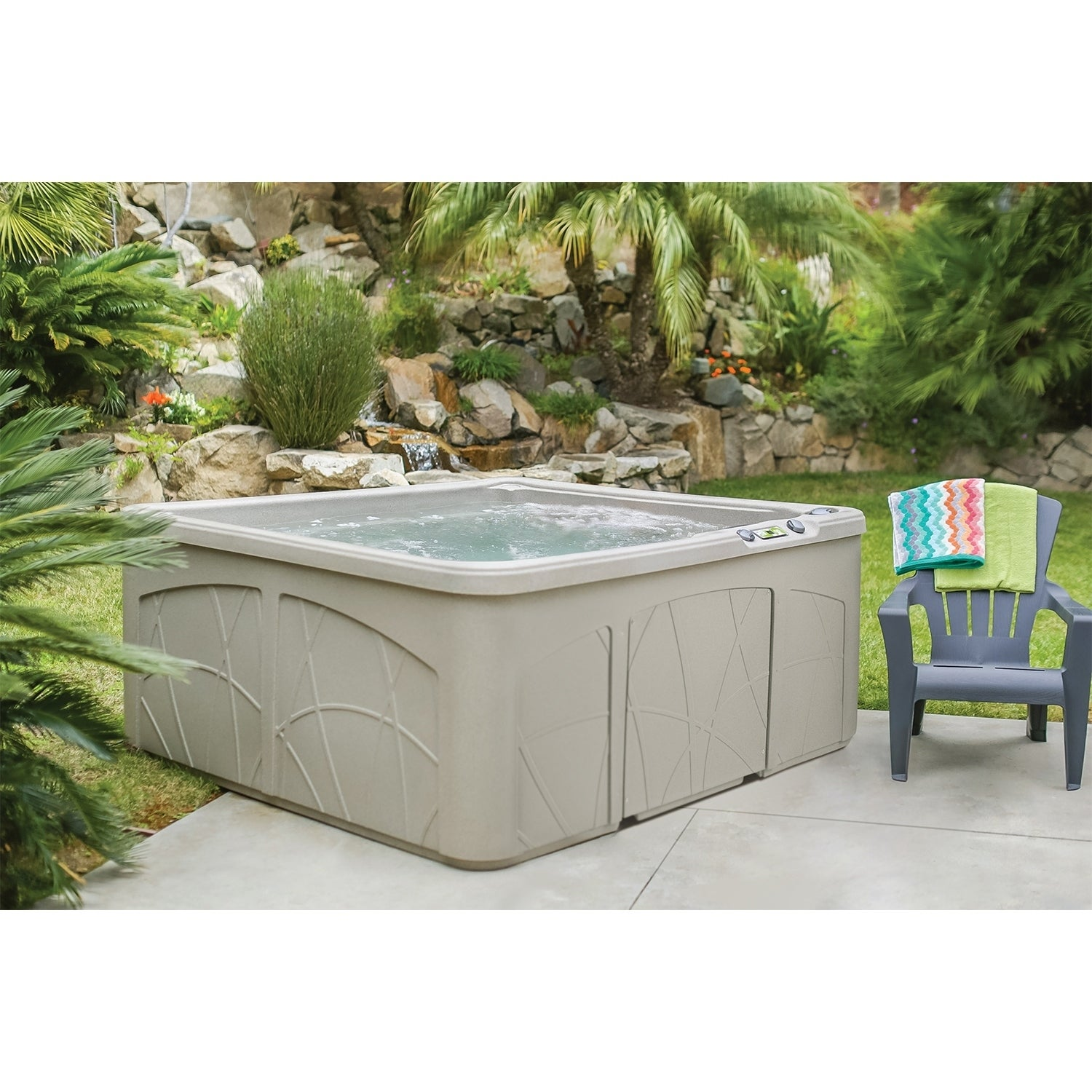 Shop Lifesmart LS350DX 5-person 28-jet Spa - Free Shipping Today ...