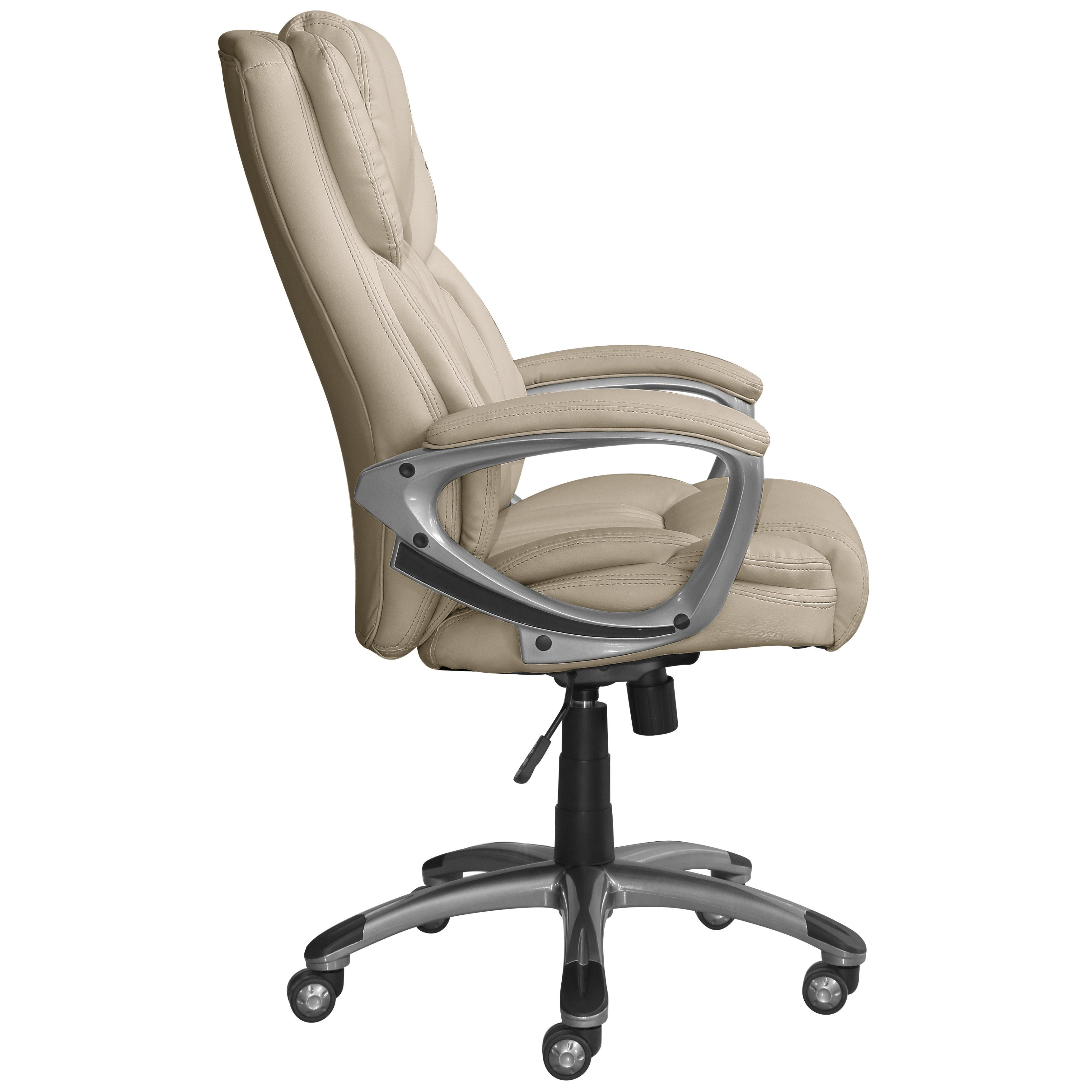 Beautiful Serta Works Bonded Leather Executive Office Chair   Free Shipping Today    Overstock   24180866
