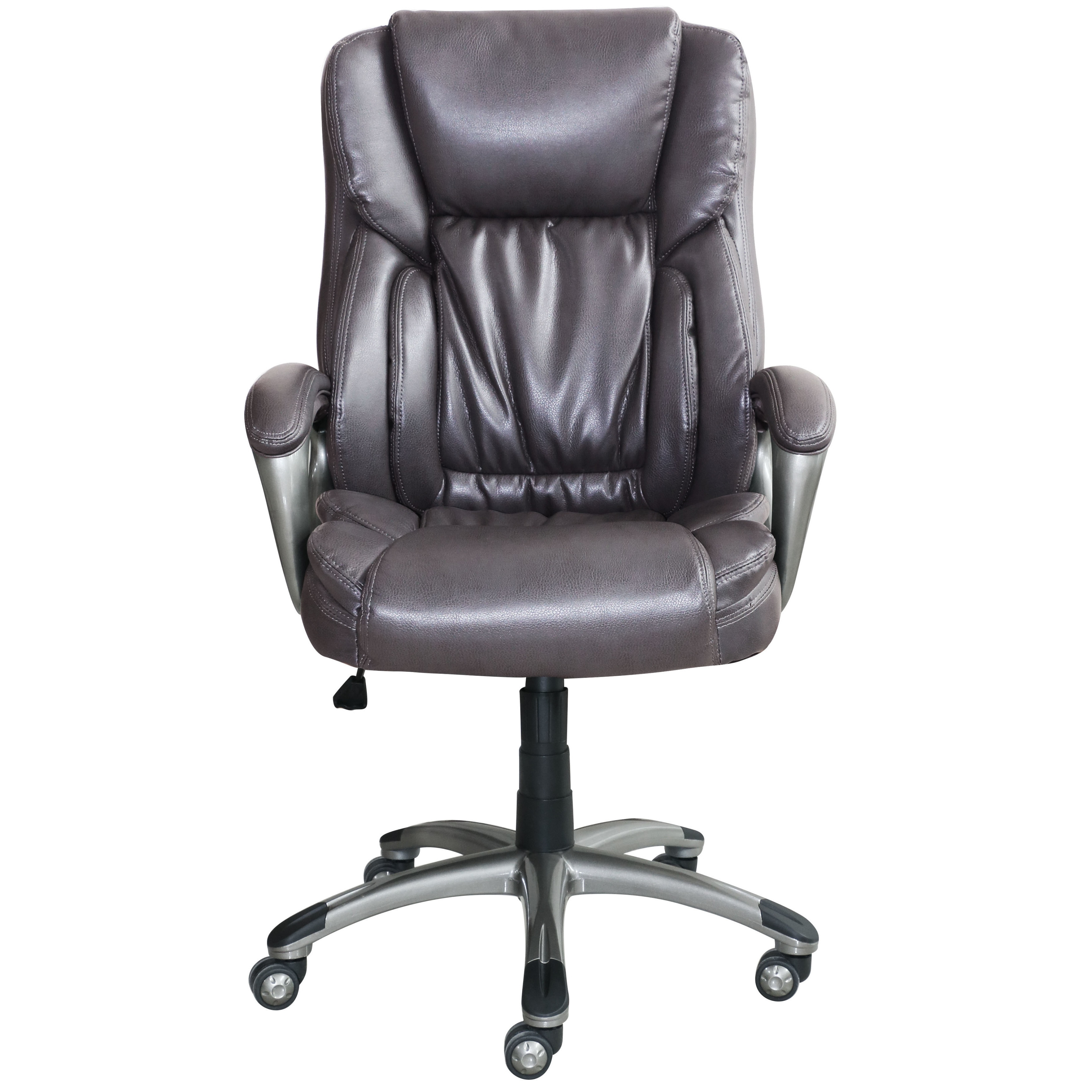 Serta Works Bonded Leather Executive Office Chair Free Shipping Today 18010940