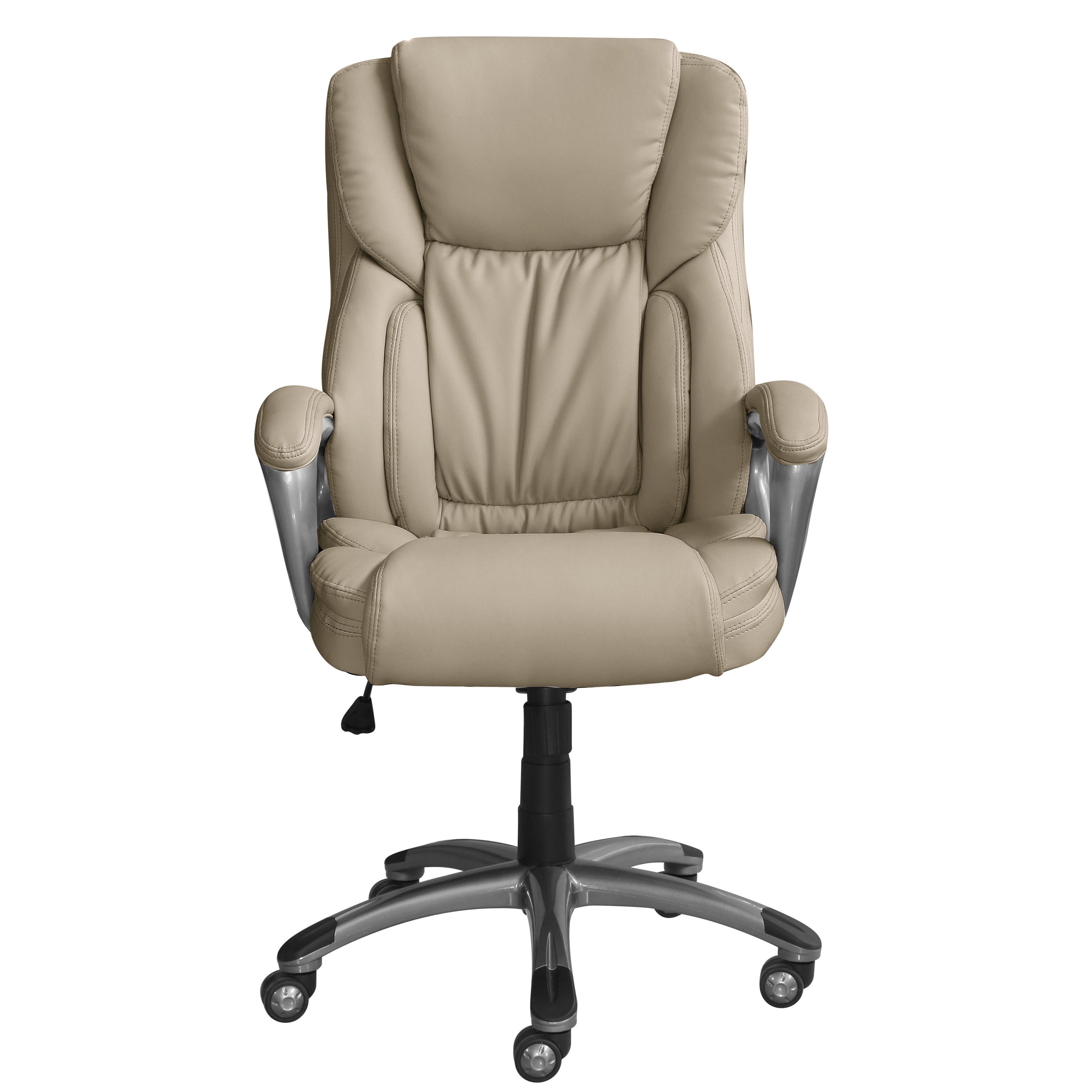 serta works bonded leather executive office chair free shipping