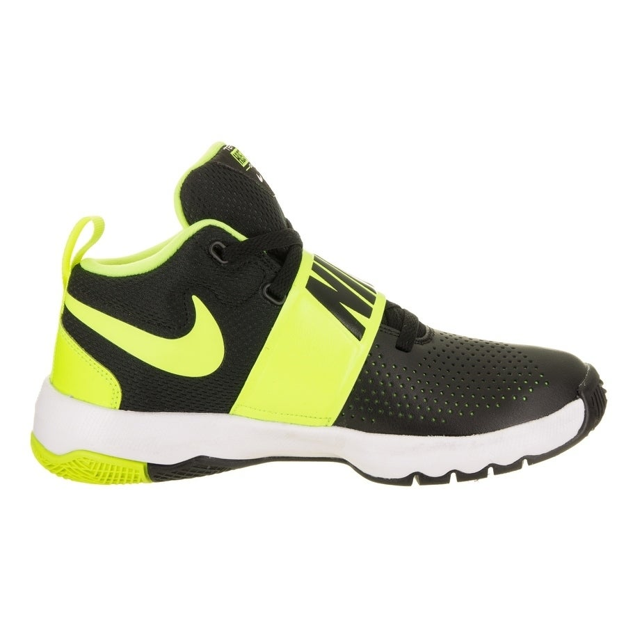 the best attitude 90702 cb28d Shop Nike Kids Team Hustle D 8 (GS) Basketball Shoe - Free Shipping Today -  Overstock - 18010972