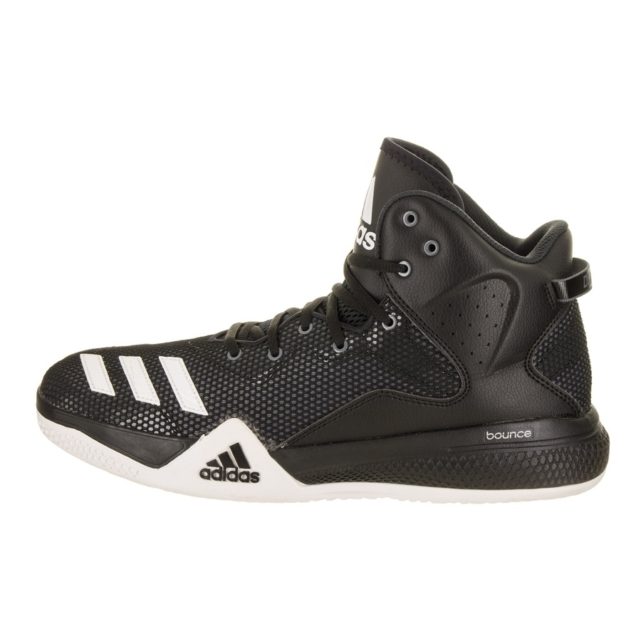 Shop Adidas Men s DT BBall Mid Basketball Shoe - Free Shipping Today -  Overstock - 18010987 1ad45e4af