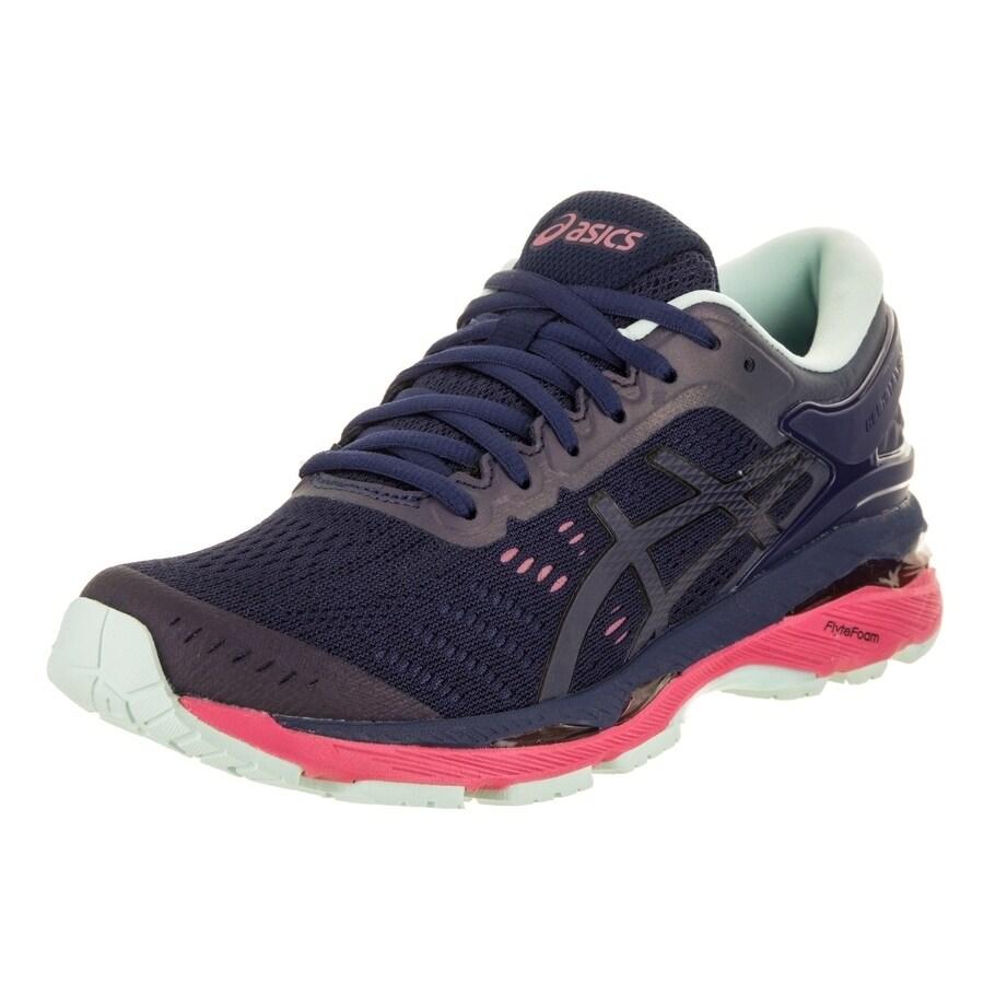 0b15a0fa187dd Shop Asics Women s Gel-Kayano 24 Lite-Show Running Shoe - Free Shipping  Today - Overstock.com - 18011040
