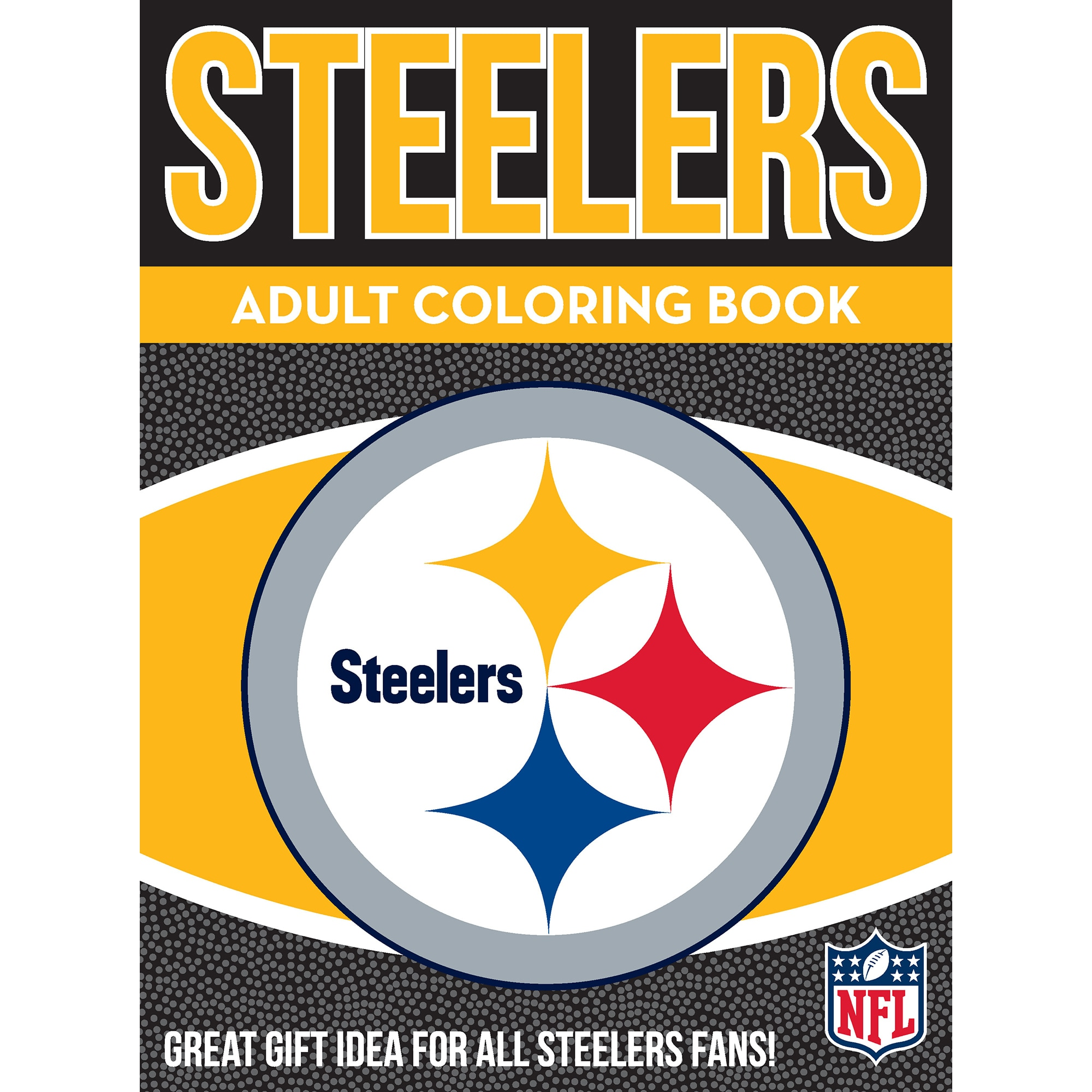 Shop Pittsburgh Steelers NFL Adult Coloring Book - Free Shipping On ...