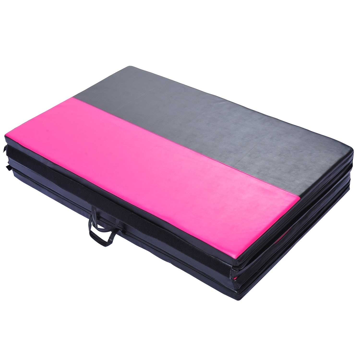 folding combo mat x chevron products and green pink mats incline gymnastics