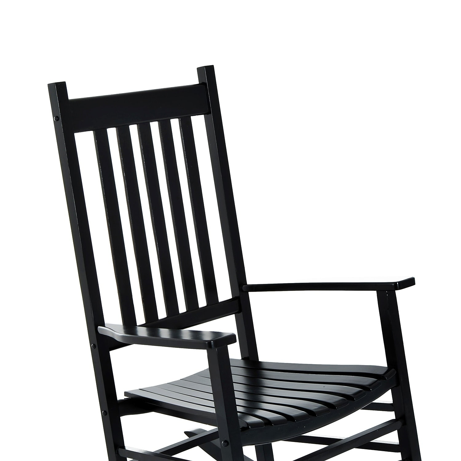 Outsunny Outdoor Porch Or Patio Wooden Rocking Chair Free Shipping Today 18013202