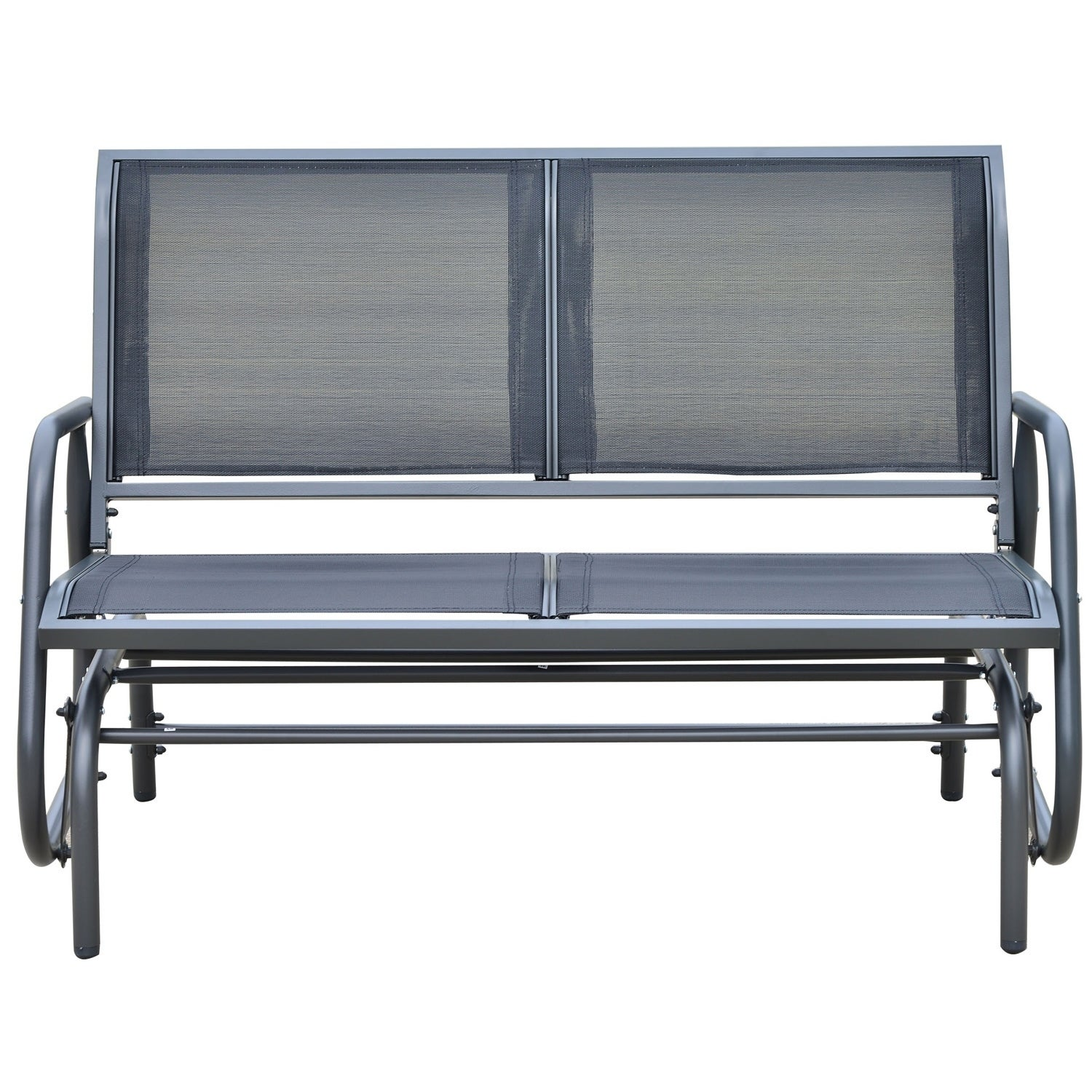 Outsunny Outdoor Patio Swing Glider Bench Chair Free Shipping Today 18013217