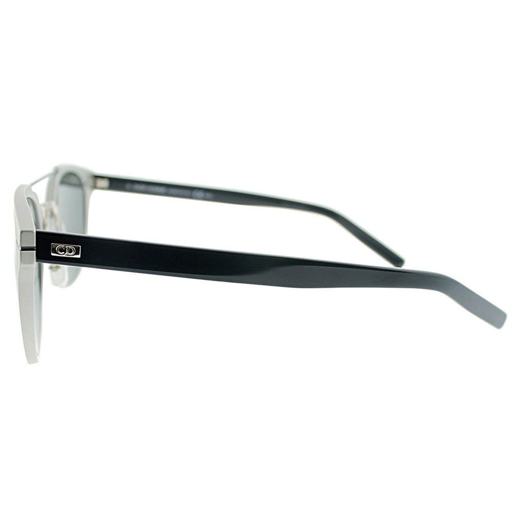 f834a68796 Shop Dior Round AL 13.5 GQY Unisex Silver Blue Frame Grey Lens Sunglasses - Free  Shipping Today - Overstock.com - 18014000