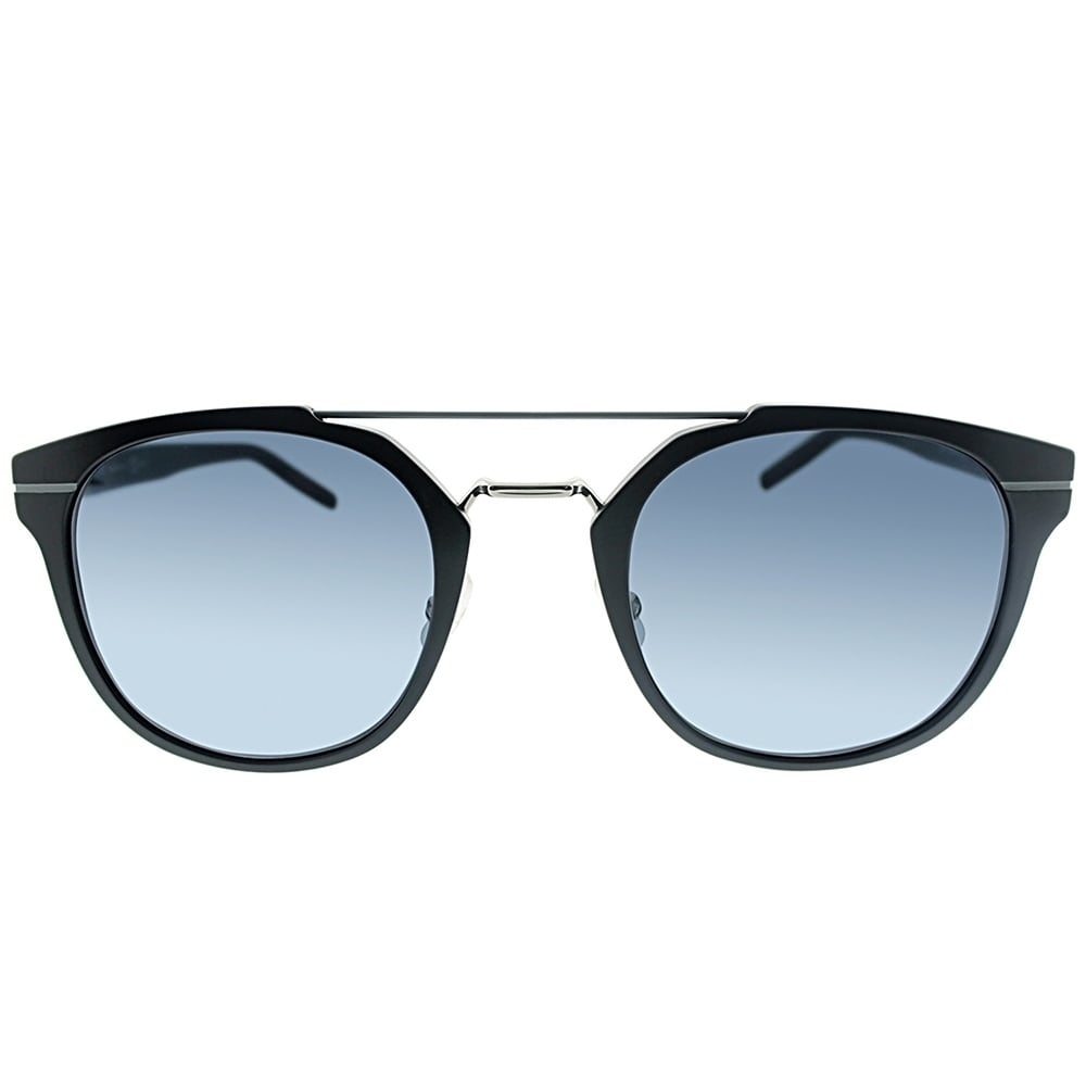 150c3fdc367a Shop Dior Round AL 13.5 GAN Unisex Blallpd Black Frame Grey Lens Sunglasses  - On Sale - Free Shipping Today - Overstock.com - 18014005