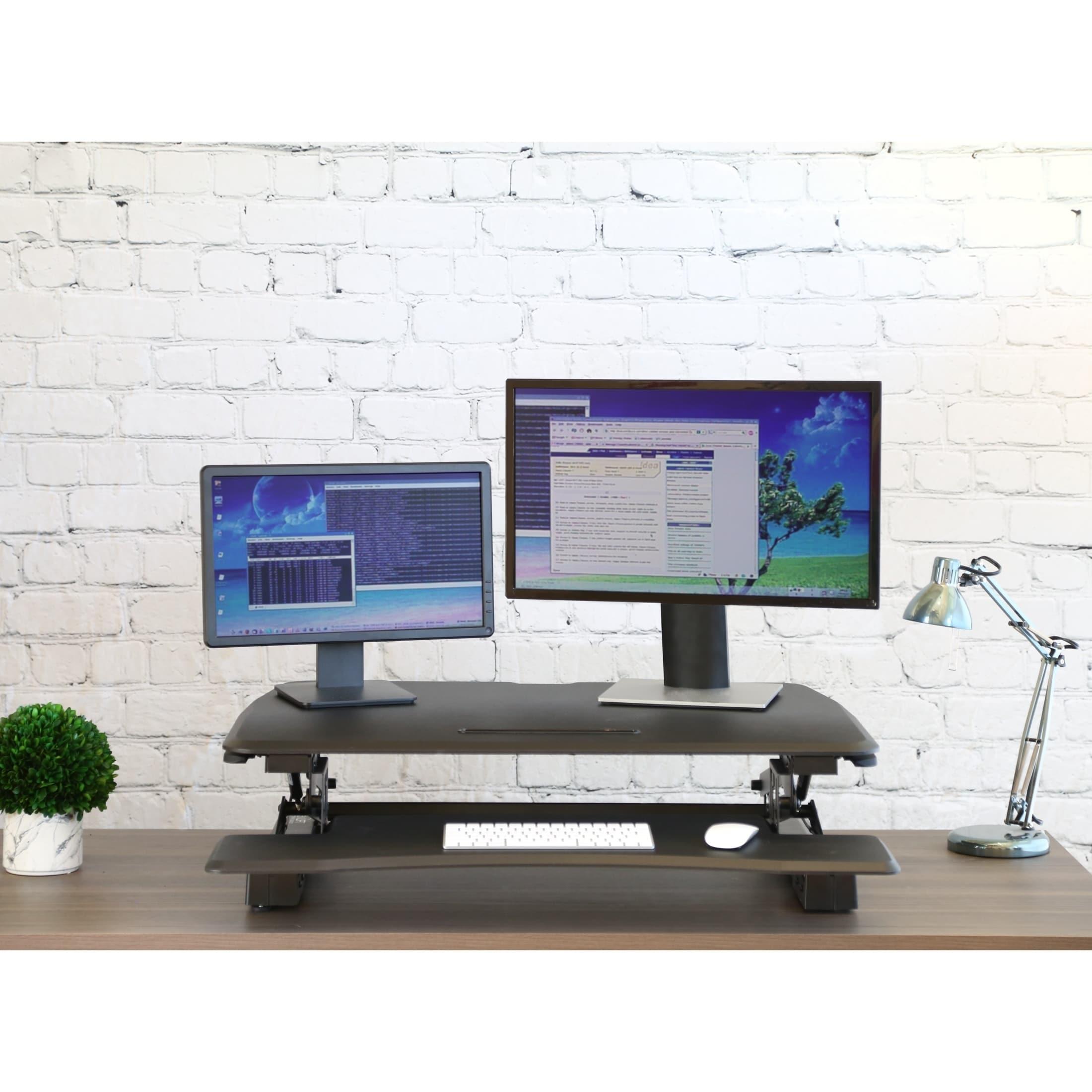 standing workstation monitor for imagination ergotron desk computer laptop mount sit stand preeminent most