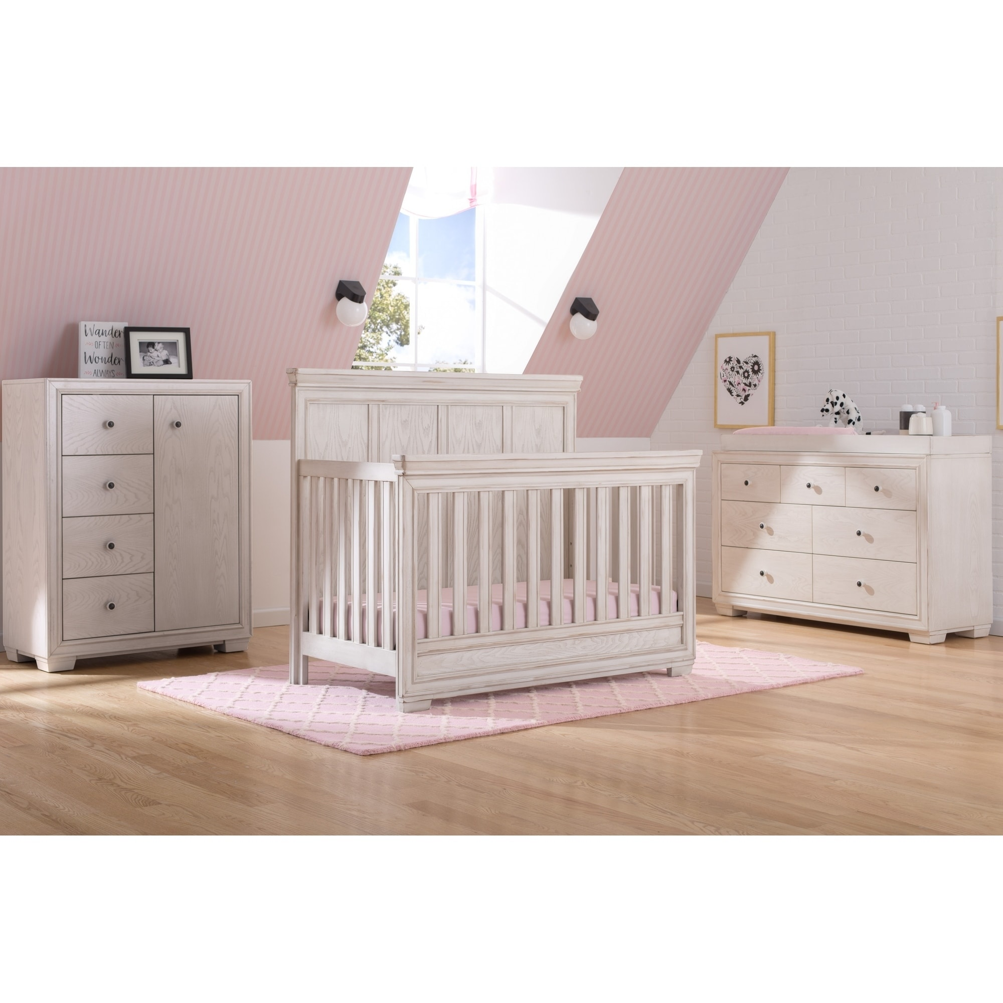 simmons nursery furniture. Simmons Kids Ravello Convertible Crib N More - Free Shipping Today Overstock 24185297 Nursery Furniture