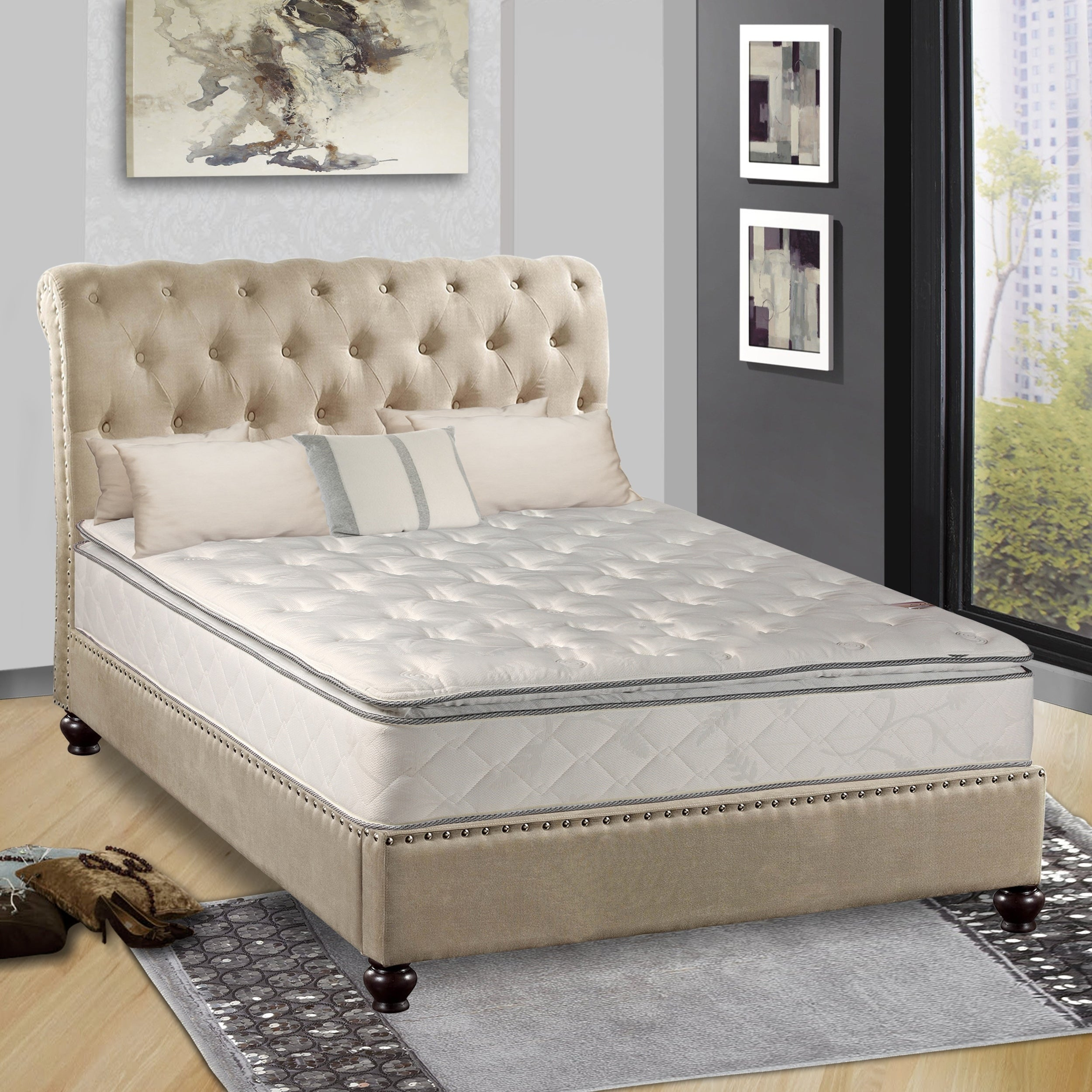 continental sleep medium plush pillowtop orthopedic type mattress