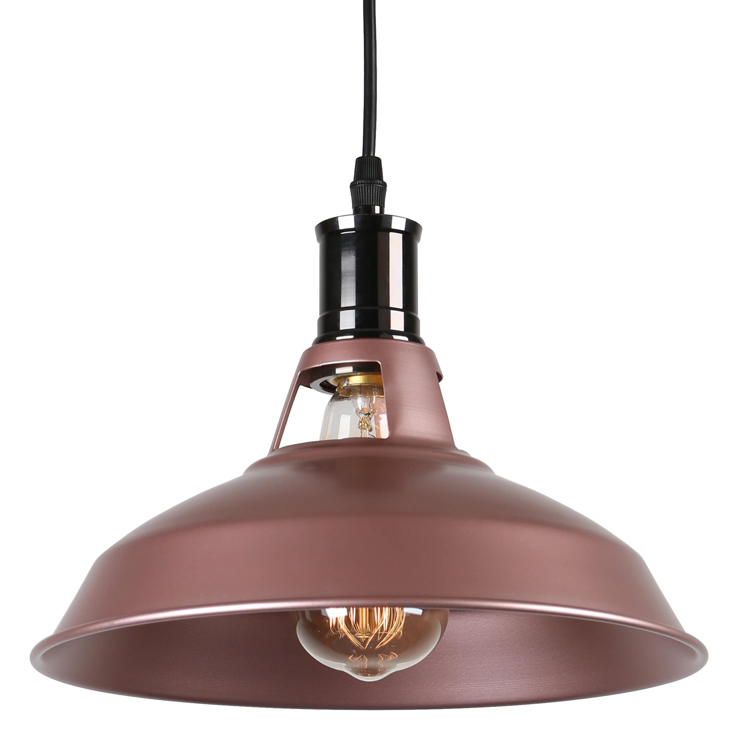 journee lighting. Journee Home \u0027Stephen\u0027 7 In Industrial Hard Wired Iron Pendant Light With Included Edison Bulb - Free Shipping Today Overstock 24186478 Lighting