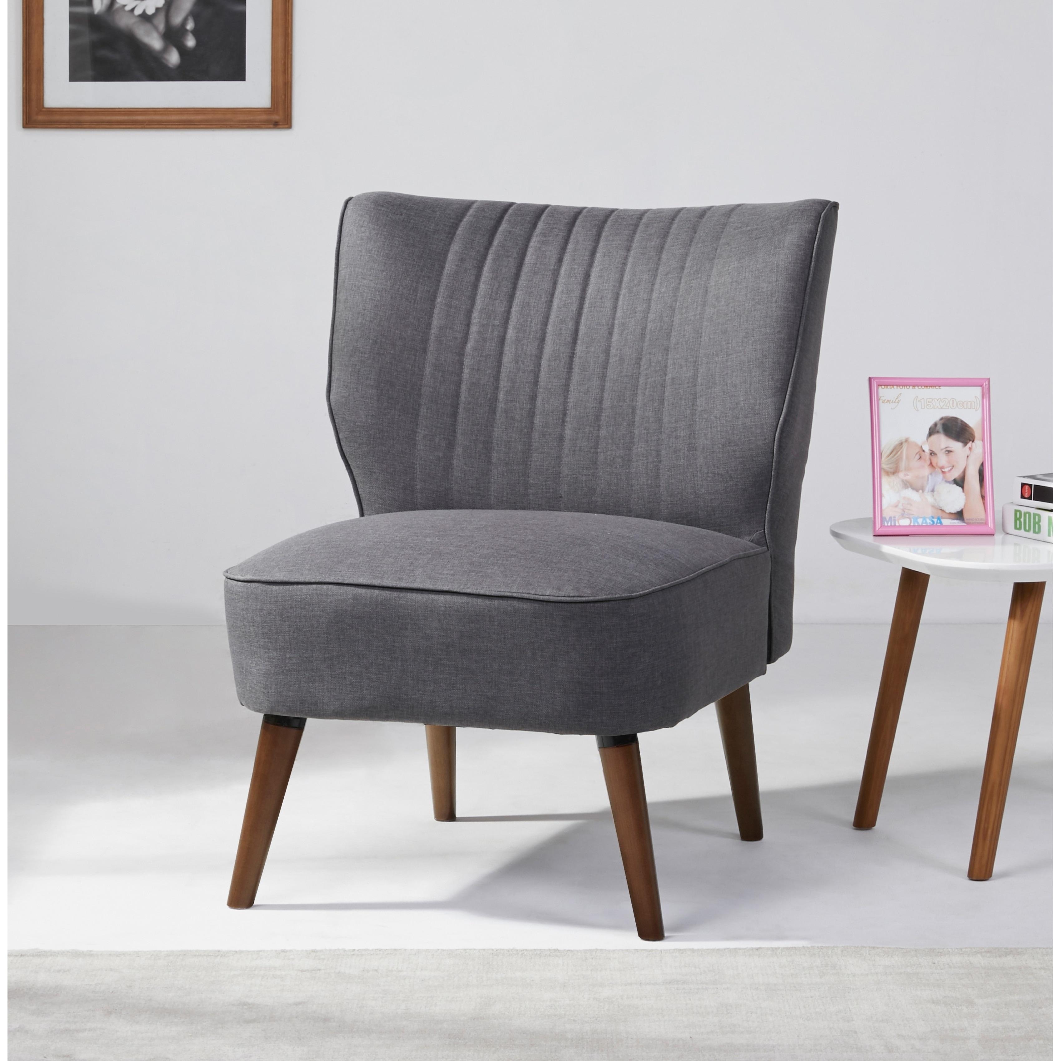 Salem Dark Gray Accent Chair