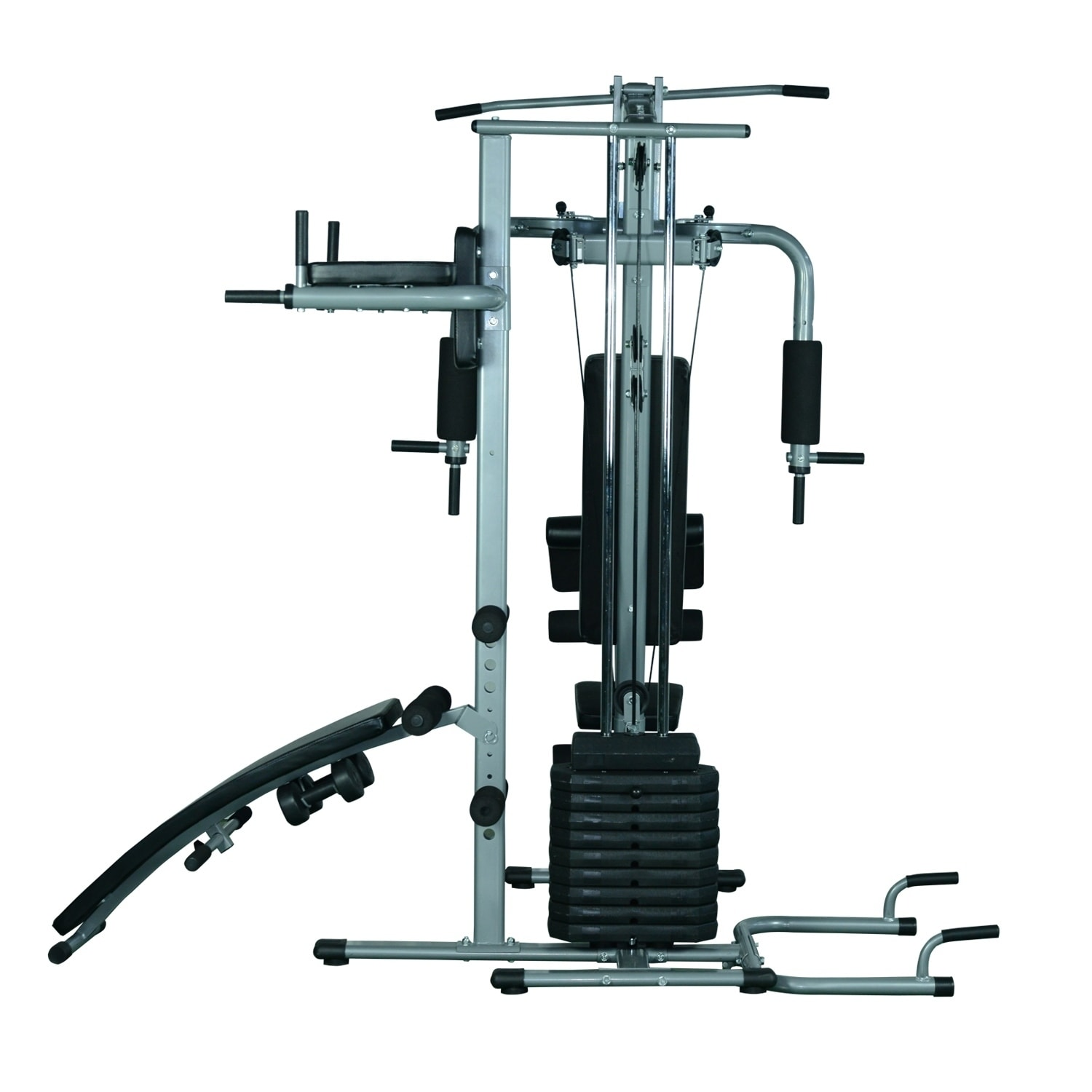 Shop soozier complete home fitness station gym machine with weight