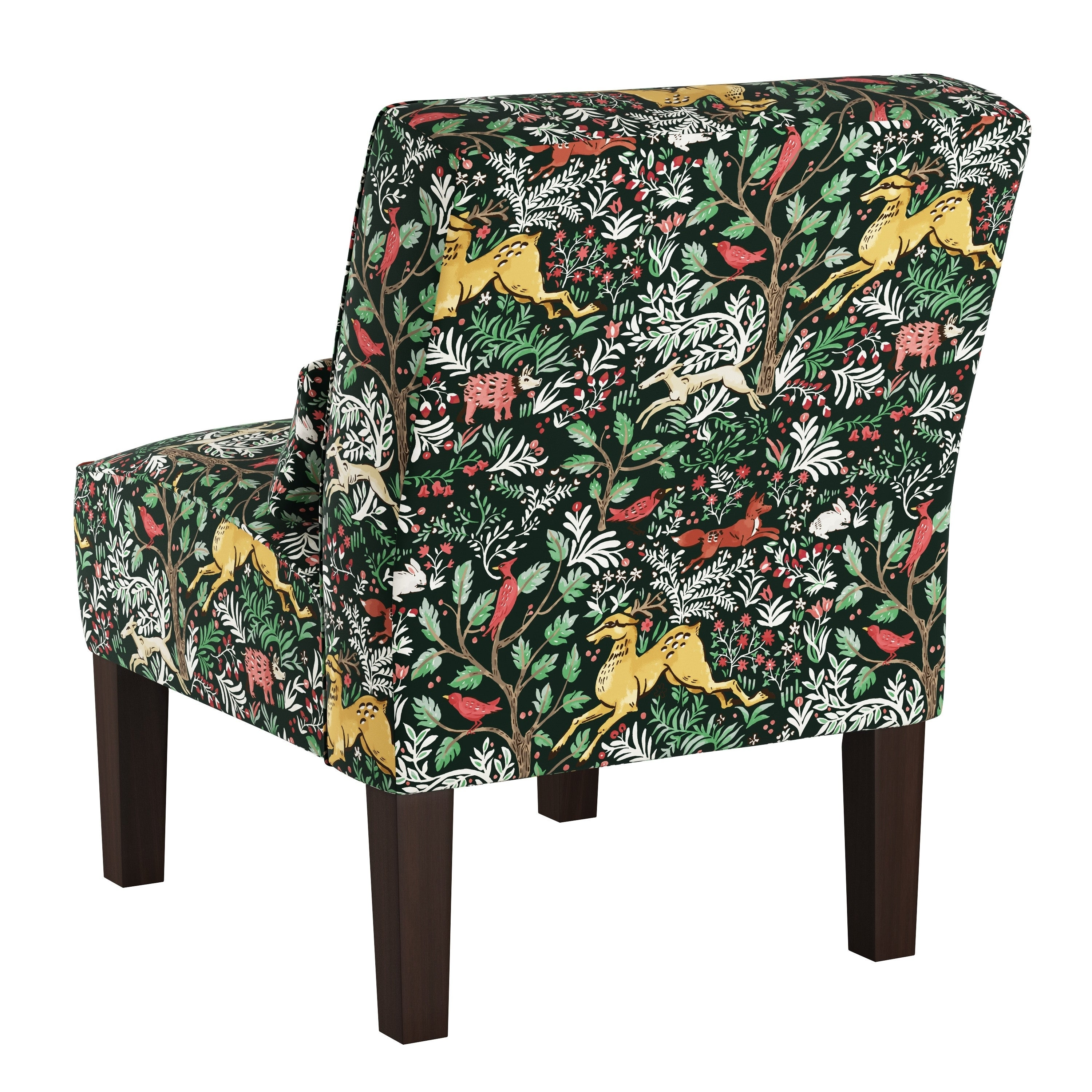 Skyline Furniture Accent Chair In Frolic Evergreen