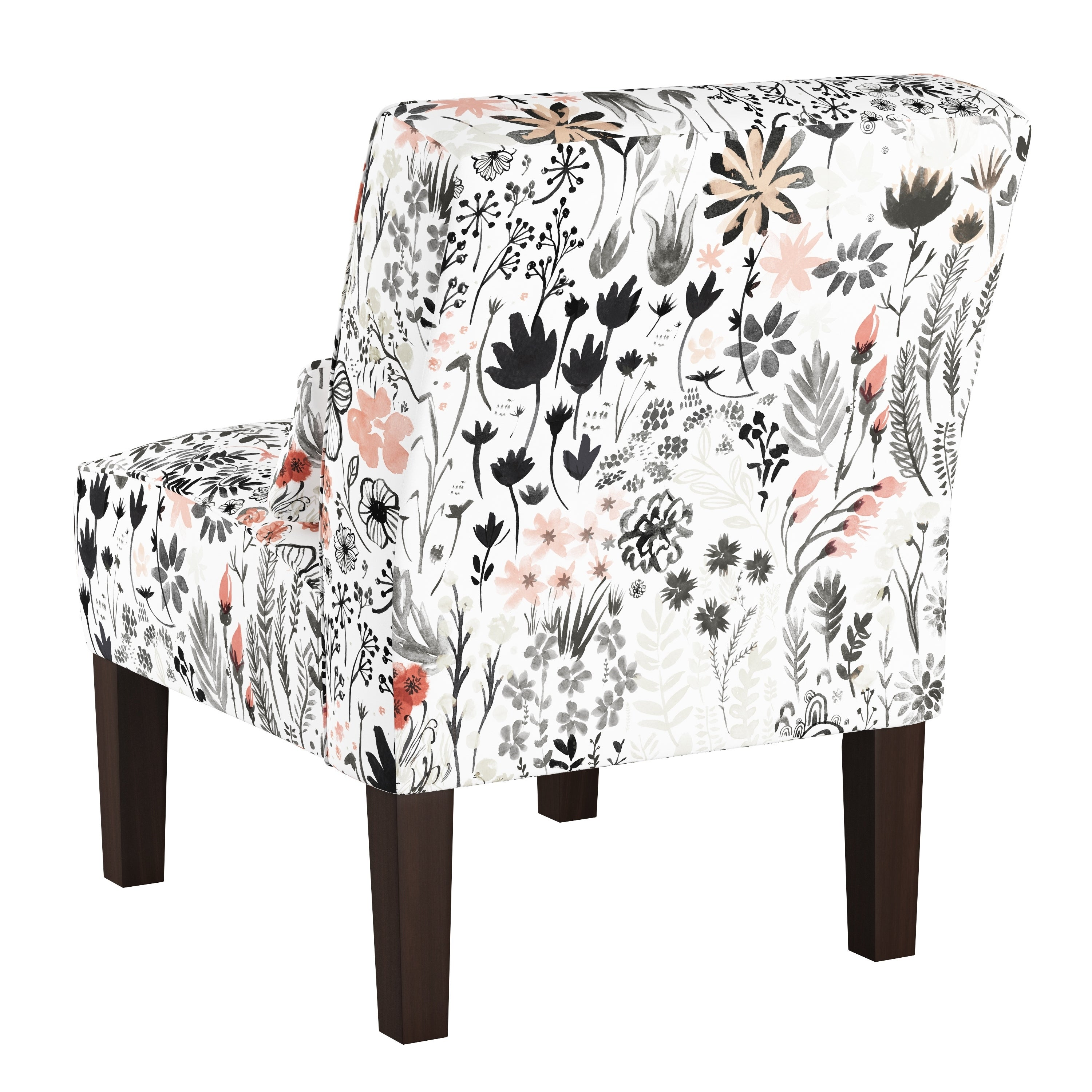Skyline Furniture Accent Chair In Winter Botanical Free Shipping Today 18029829