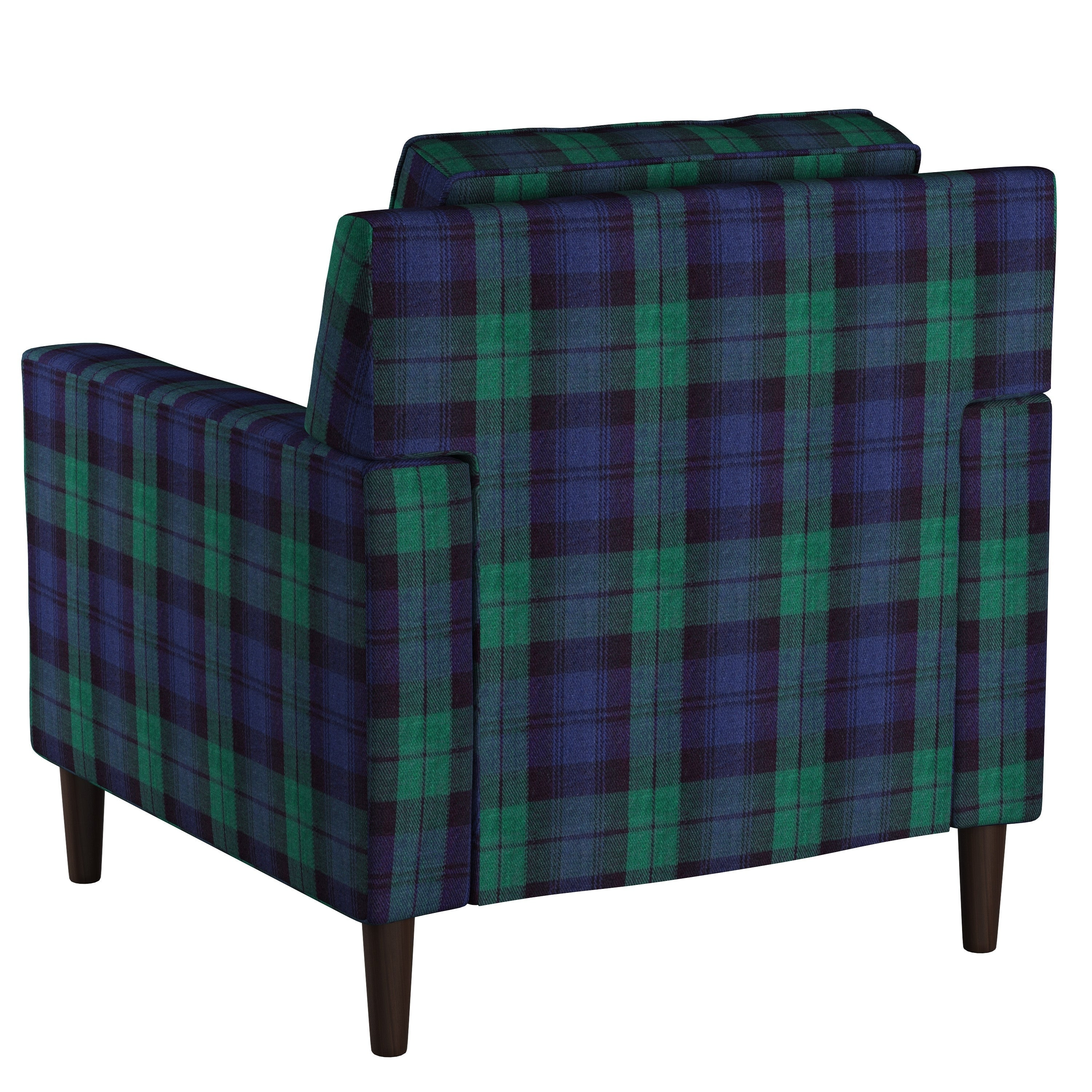 Genial Shop Skyline Furniture Accent Chair In Plaid   On Sale   Free Shipping  Today   Overstock.com   18029830