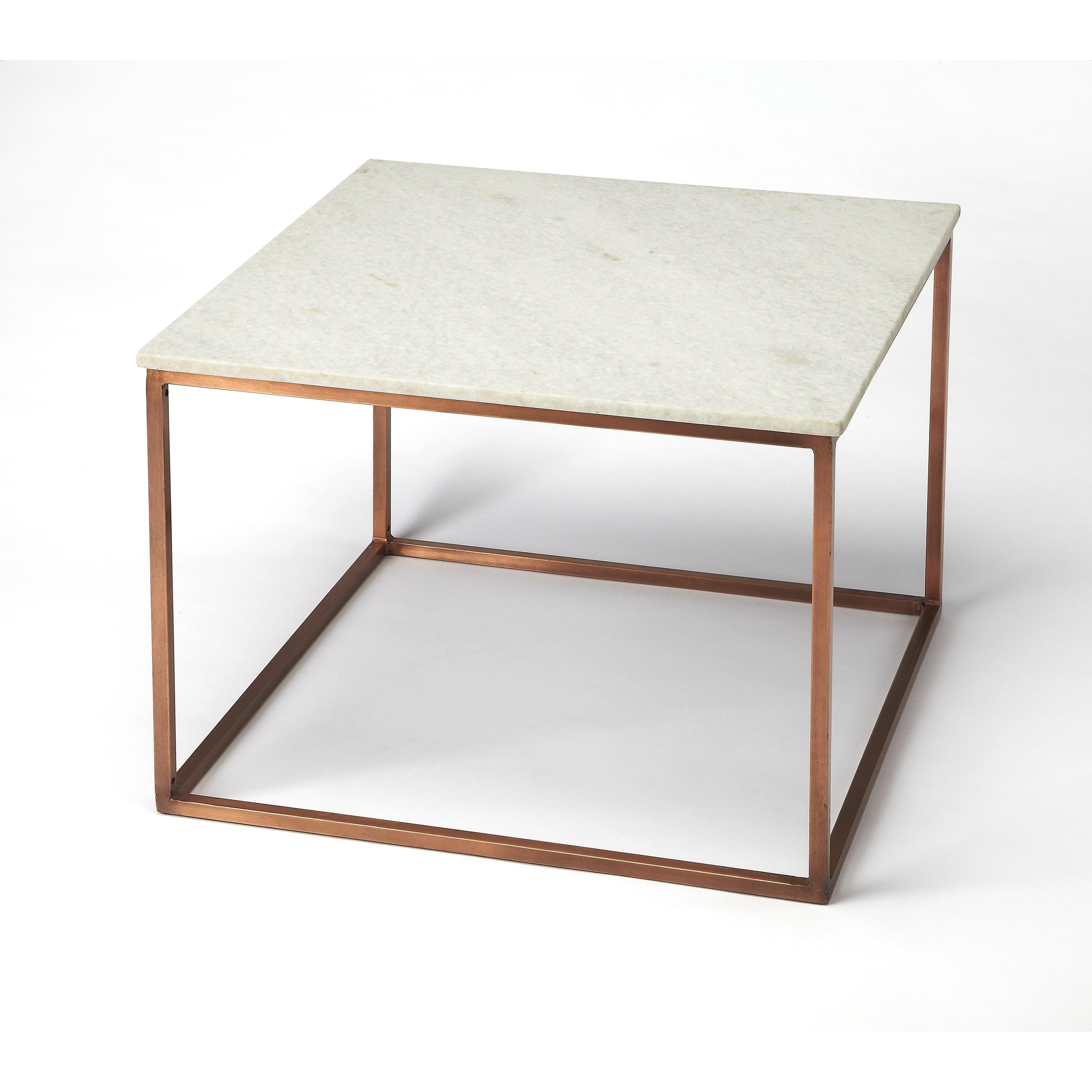 Superbe Shop Butler Holland Marble U0026 Metal Coffee Table   Free Shipping Today    Overstock.com   18029869
