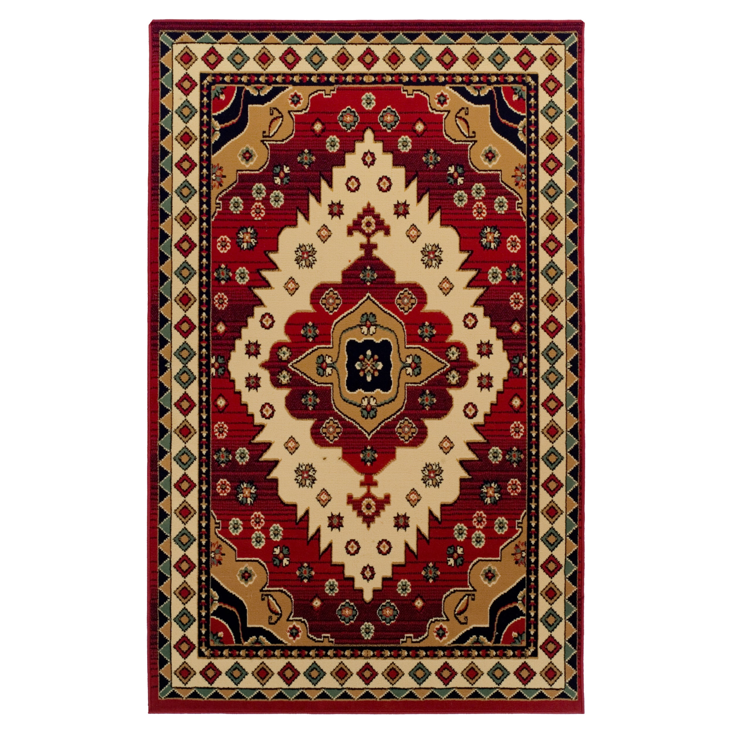 Superior Designer Aztec Area Rug 8 X 10 Free Shipping Today 18038174