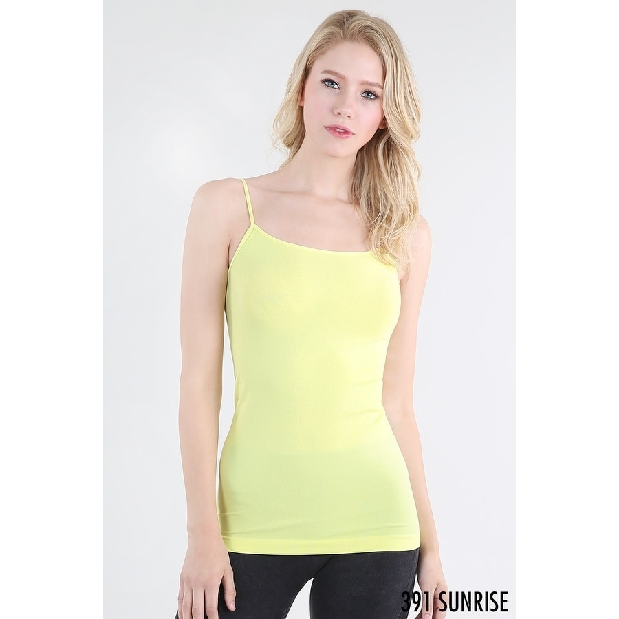 3e13f2b0d7d43 Shop Nikibiki Women s Seamless Signature Camisole - Free Shipping On Orders  Over  45 - Overstock - 18038344