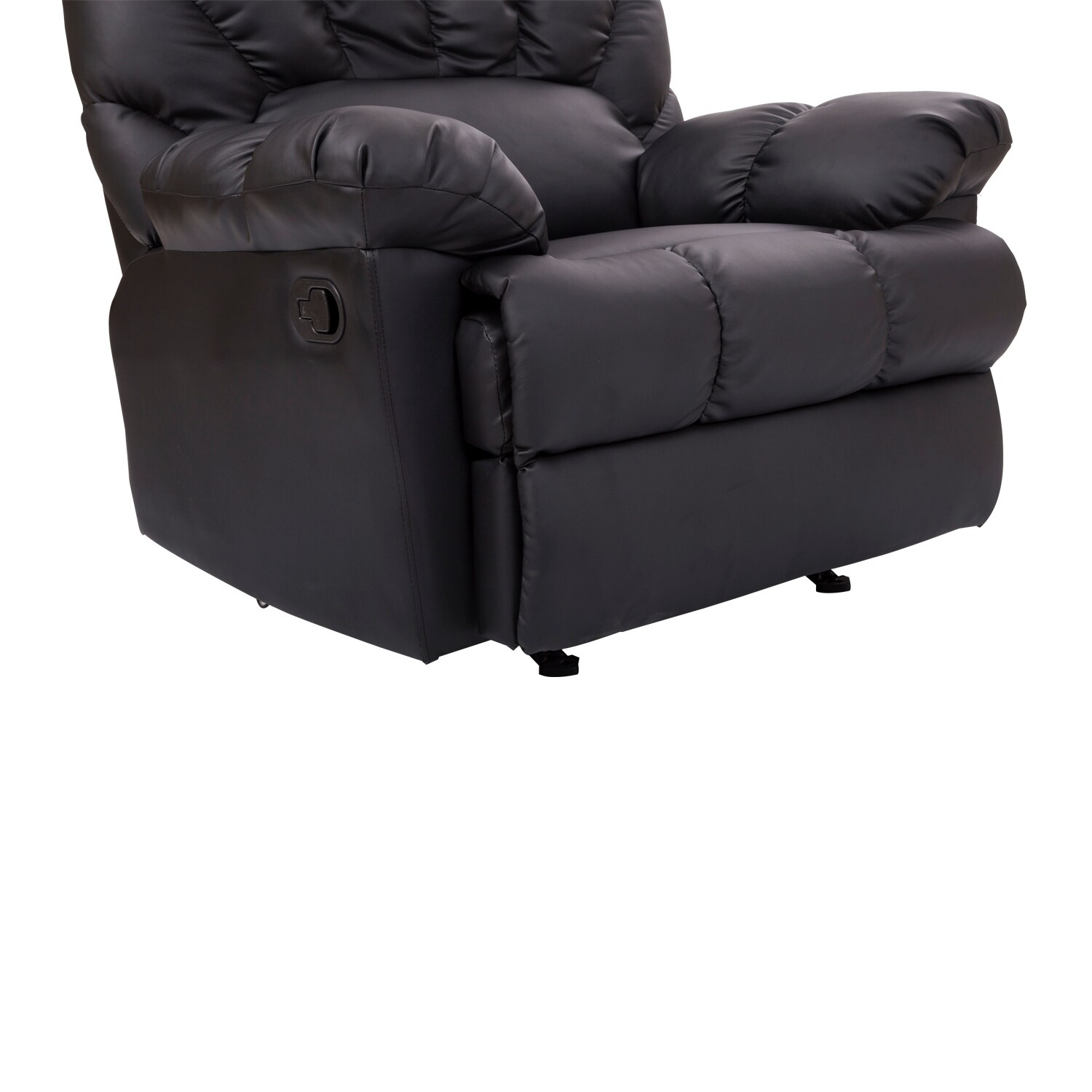 Homcom Pu Leather Rocking Sofa Chair Recliner Free Shipping Today 18038540
