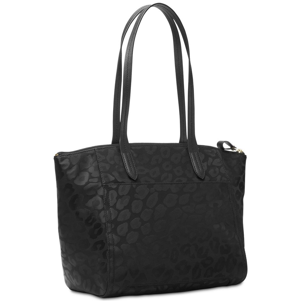 69e51be37da0 Shop Michael Michael Kors Kelsey Top-Zip Medium Tote - Black - Free  Shipping Today - Overstock - 18041291