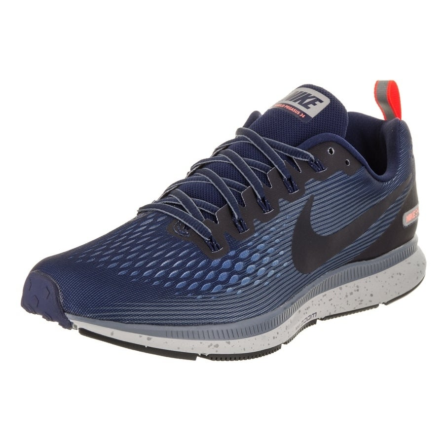 buy popular 90636 06e84 Shop Nike Men s Air Zoom Pegasus 34 Shield Running Shoe - Free Shipping  Today - Overstock - 18043922