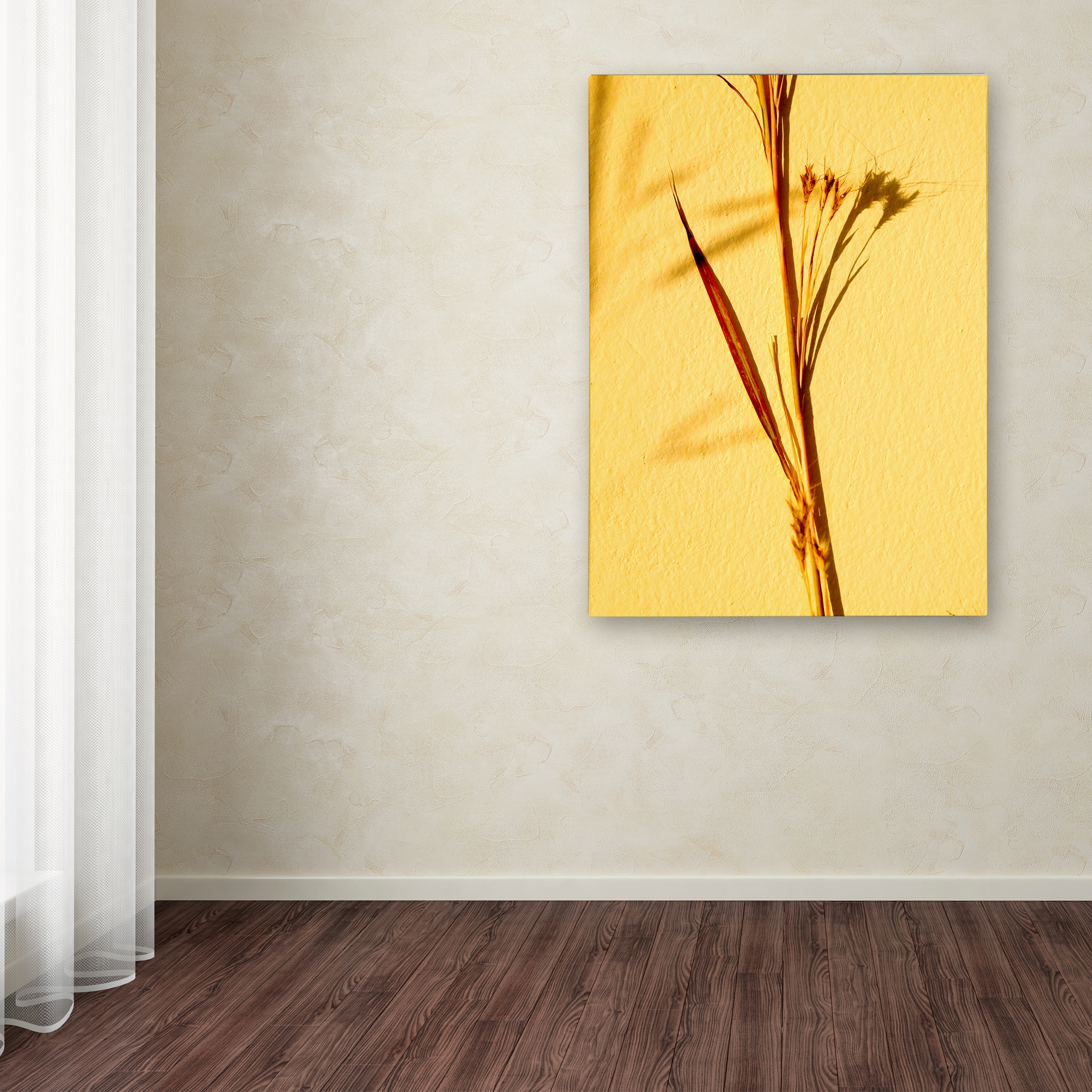 Shop Geoffrey Baris \'Cream Of Wheat 3\' Canvas Art - Free Shipping ...