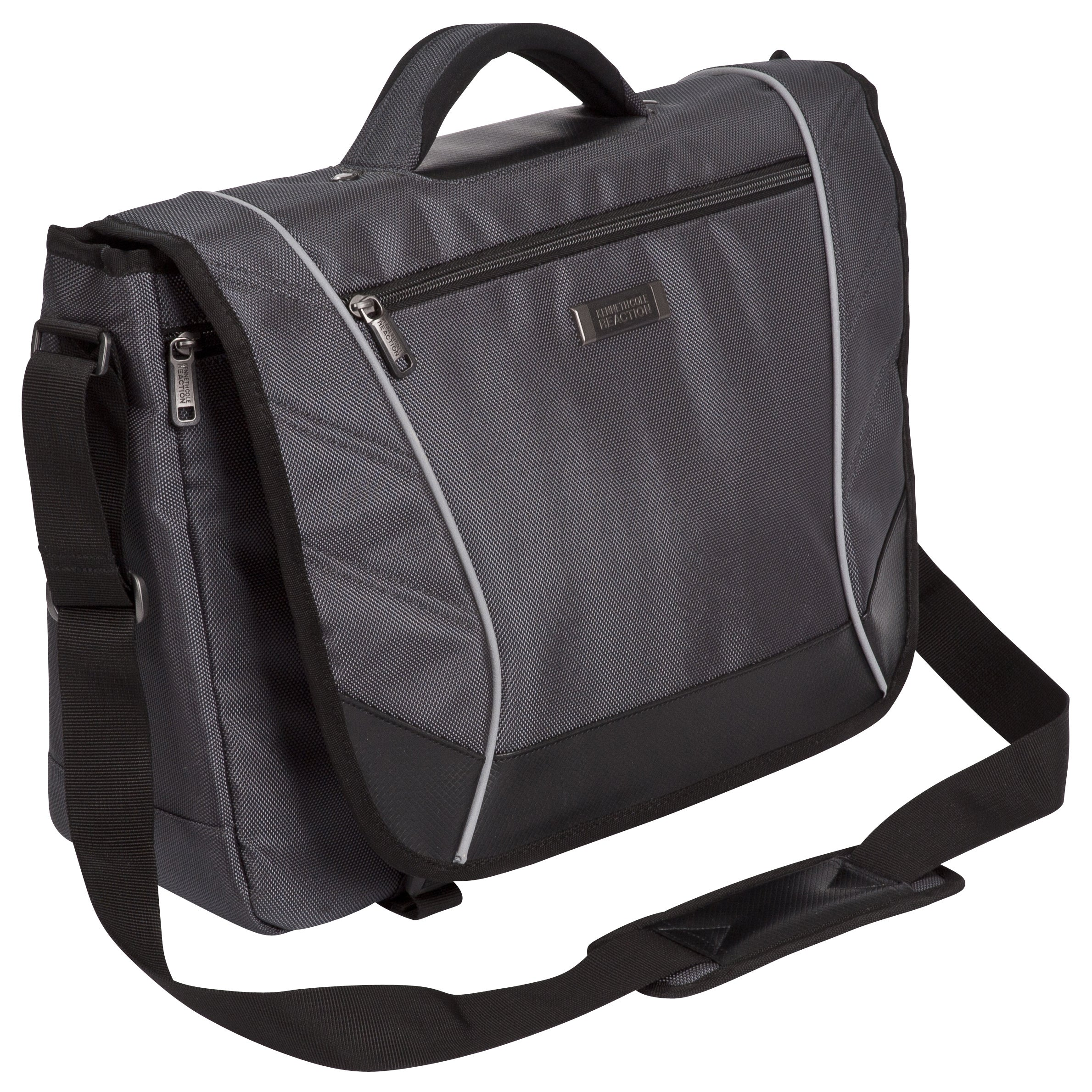 Kenneth Cole Reaction Flapover Crossbody 17 Inch Laptop Messenger Bag On Free Shipping Today 18055863