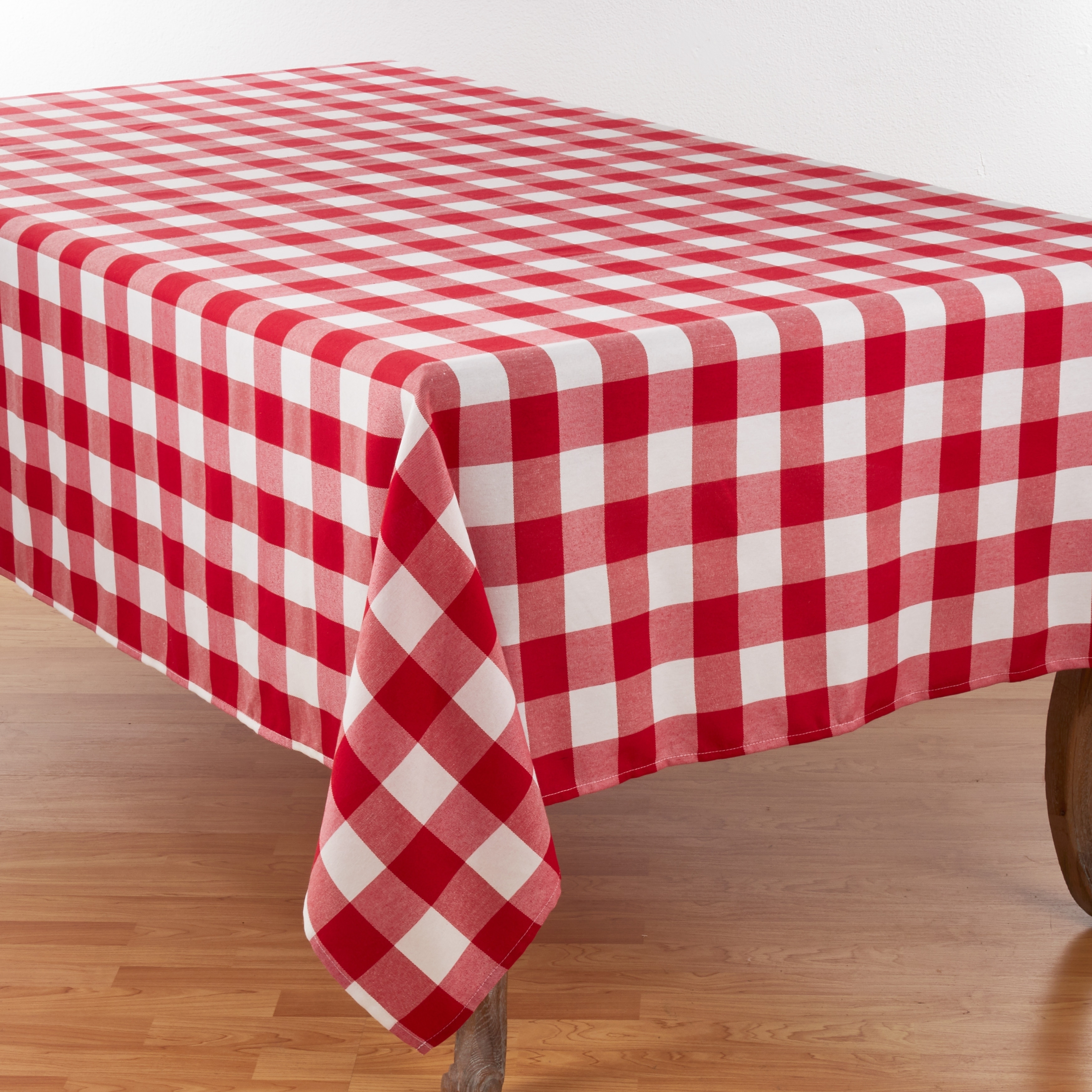 11ed94dfc90d7 Shop Buffalo Plaid Design Cotton Blend Tablecloth - Free Shipping On Orders  Over $45 - Overstock - 18057068