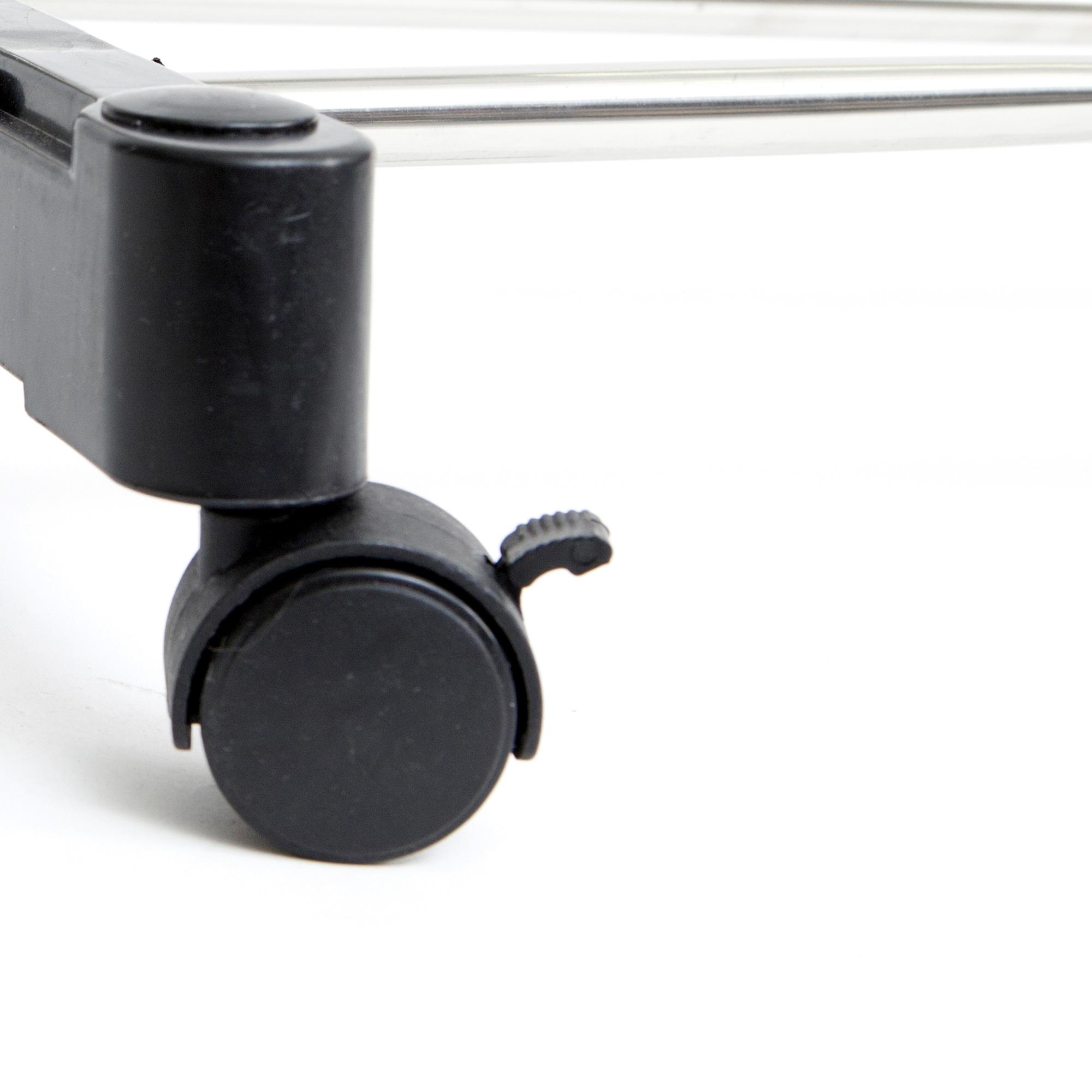 Shop Mind Reader Extend Stainless Steel Adjustable Garment Rack Chrome Finish