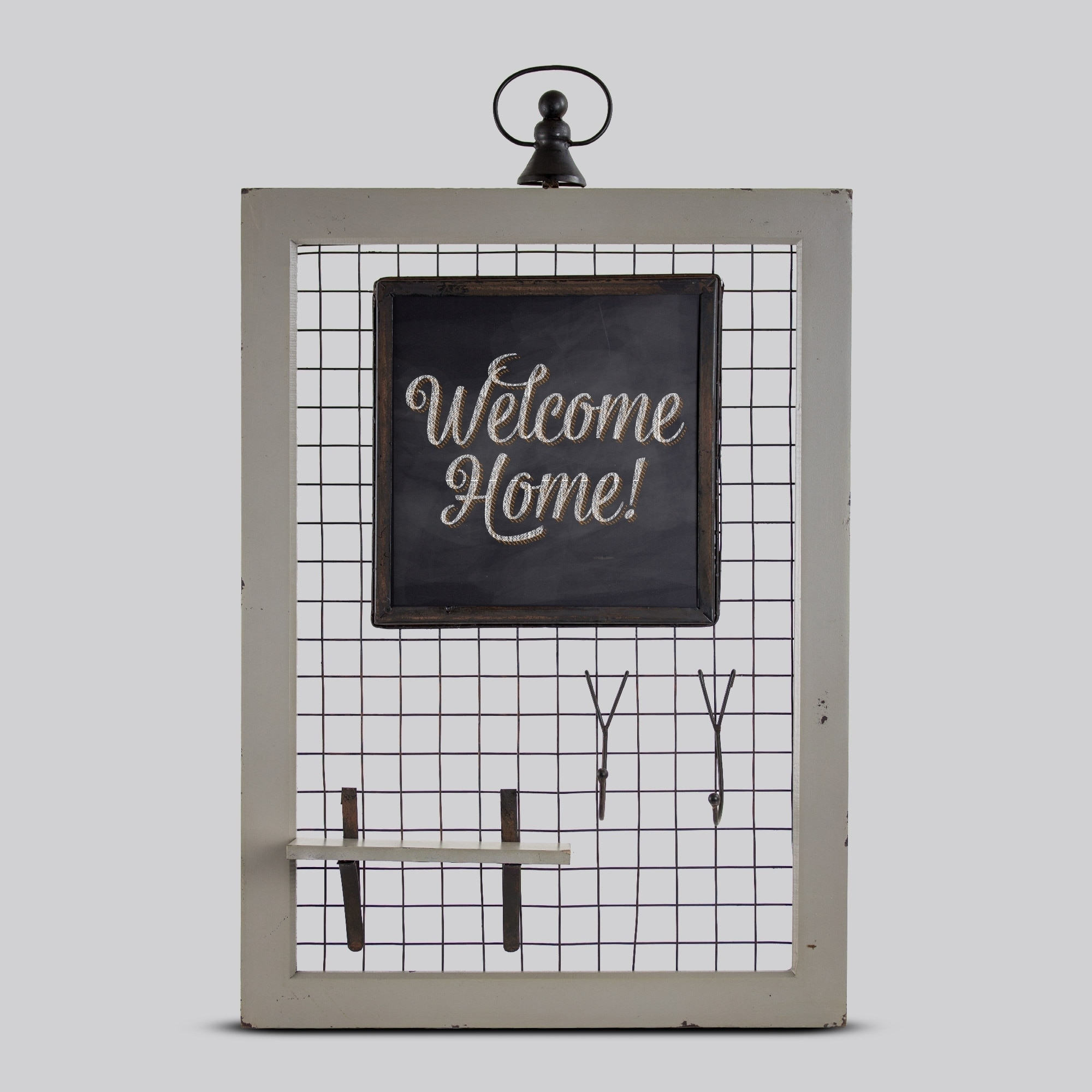 Shop Rustic Country Wood Wire Chalkboard Wall Organizer - Free ...