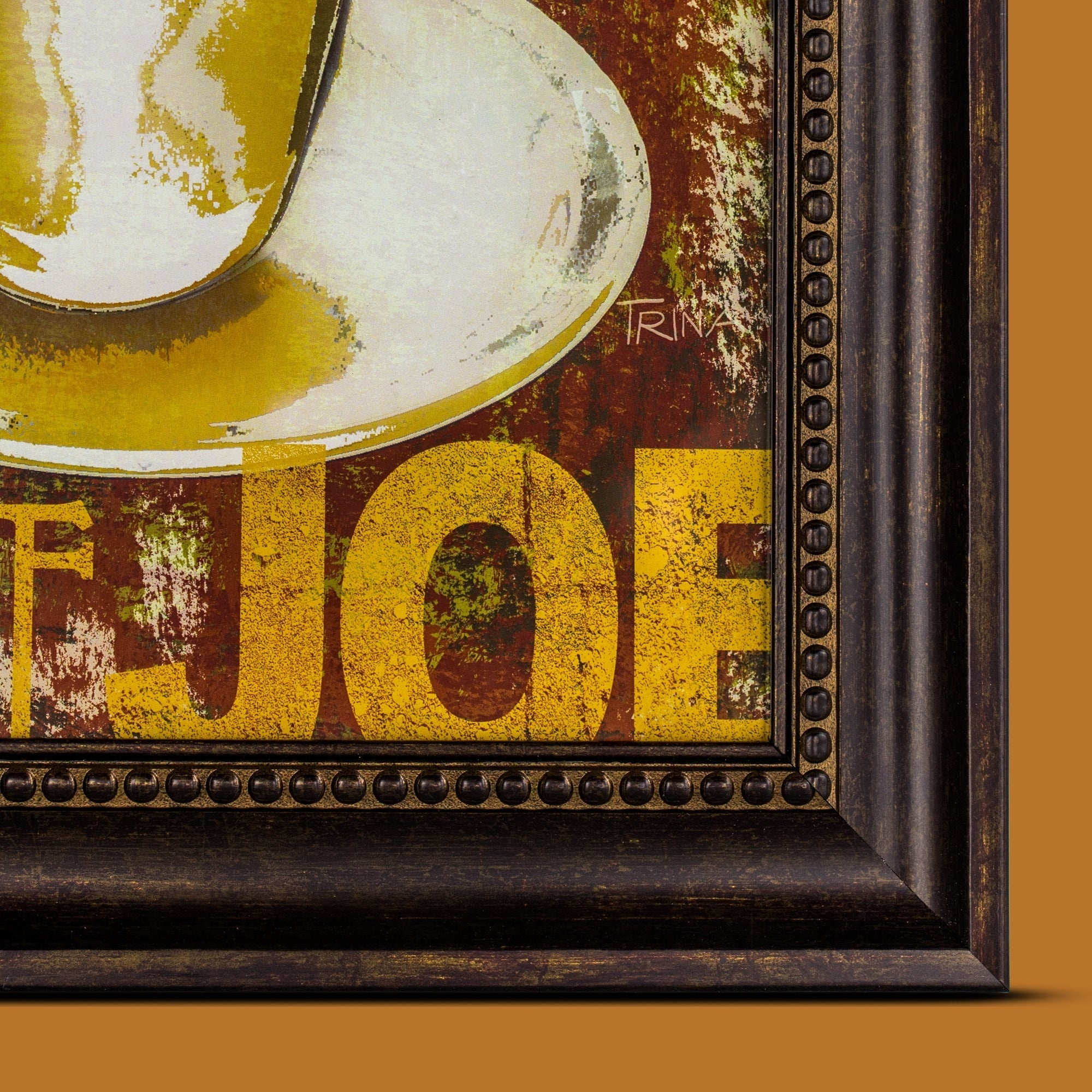 Shop Get Ready with a Good Cup of Joe Framed Coffee Graphic Print ...