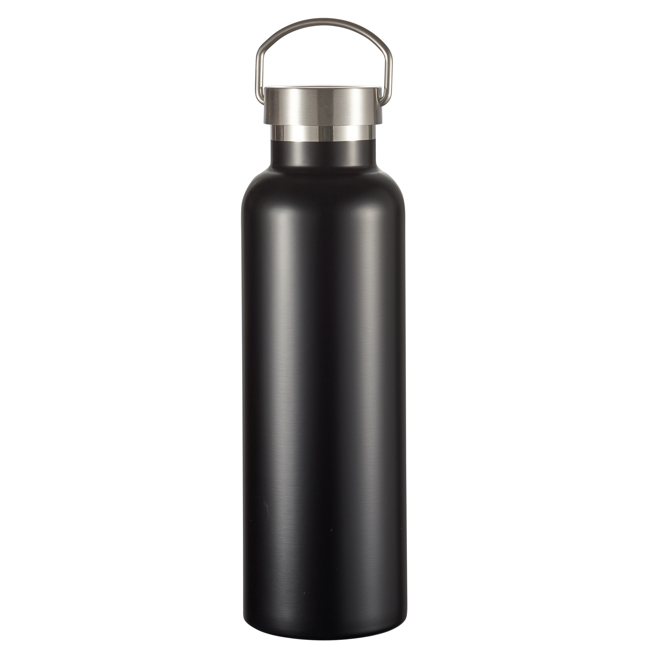 44872b4d8e ... Shop Visol James Matte Black Insulated Water Bottle- 24 Ounce - Free  Shipping On Orders