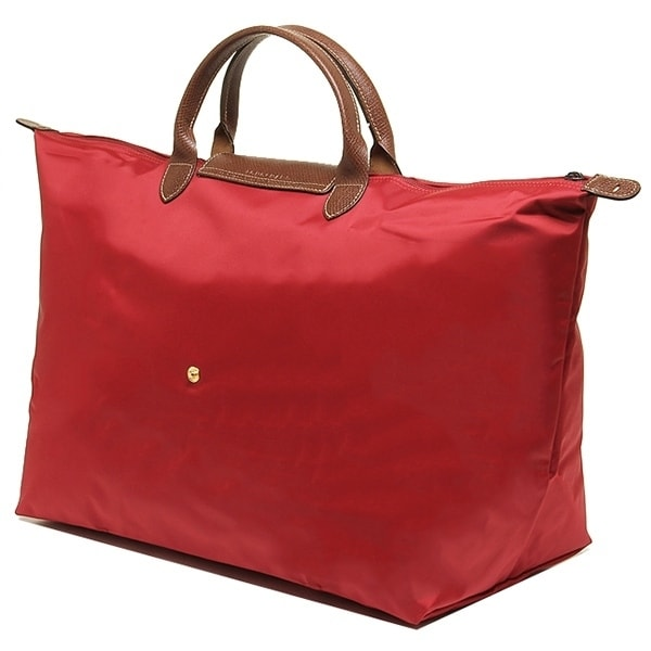 178f5c1db199 Shop Longchamp Le Pliage Large Travel Bag-Red - Free Shipping Today -  Overstock - 18058409