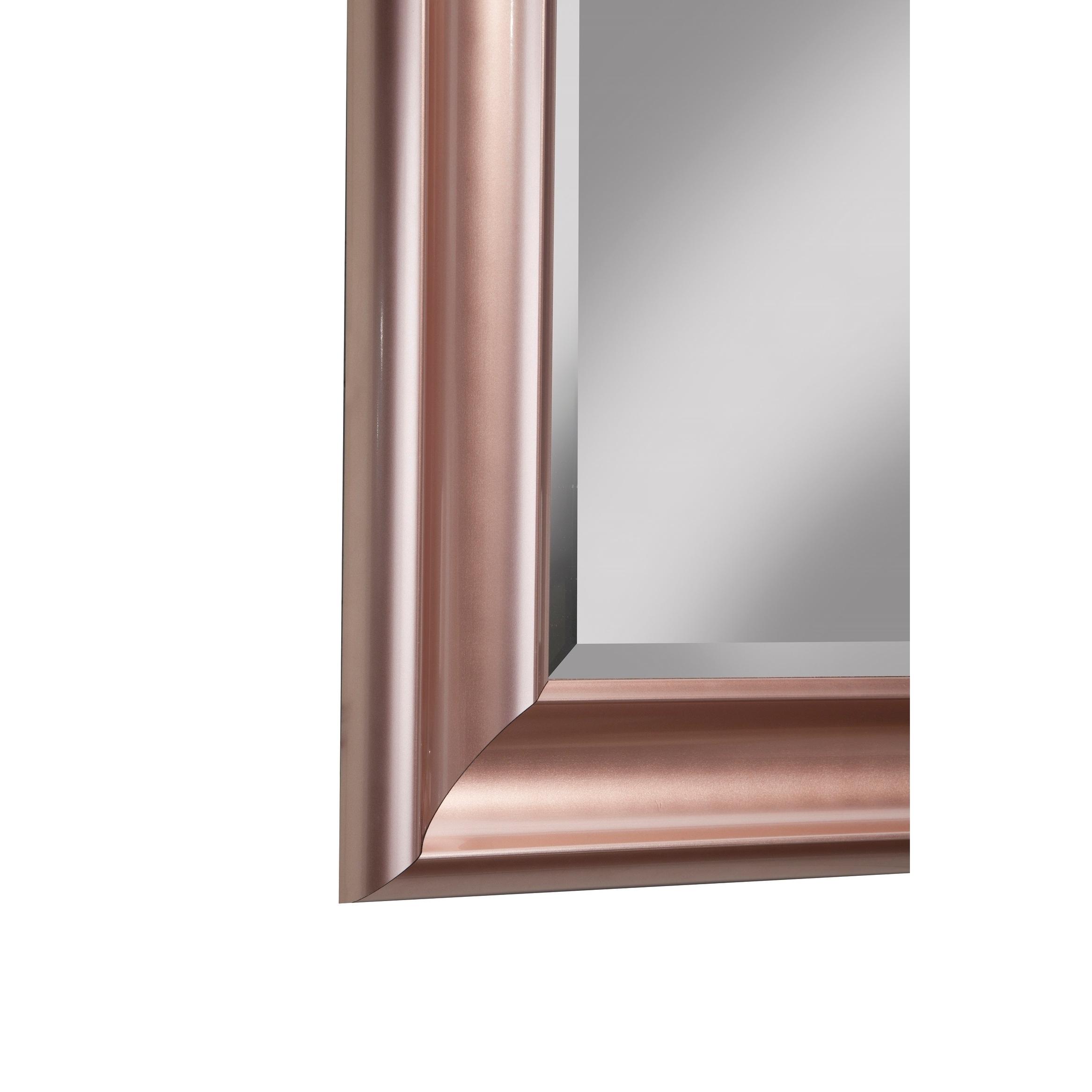 Sandberg Furniture Rose Gold Full Length Leaner Mirror Pink Free Shipping Today 18059620