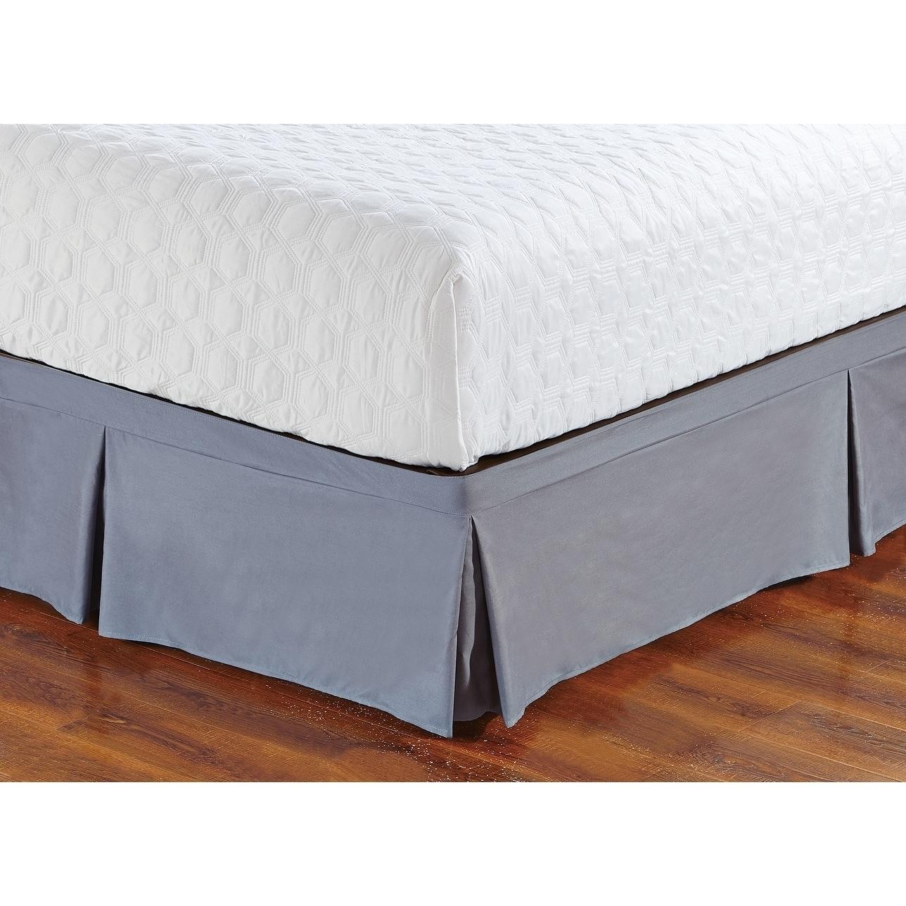 Shop De Moocci Wrap Around Style Tailored Bed Skirt 16 Drop